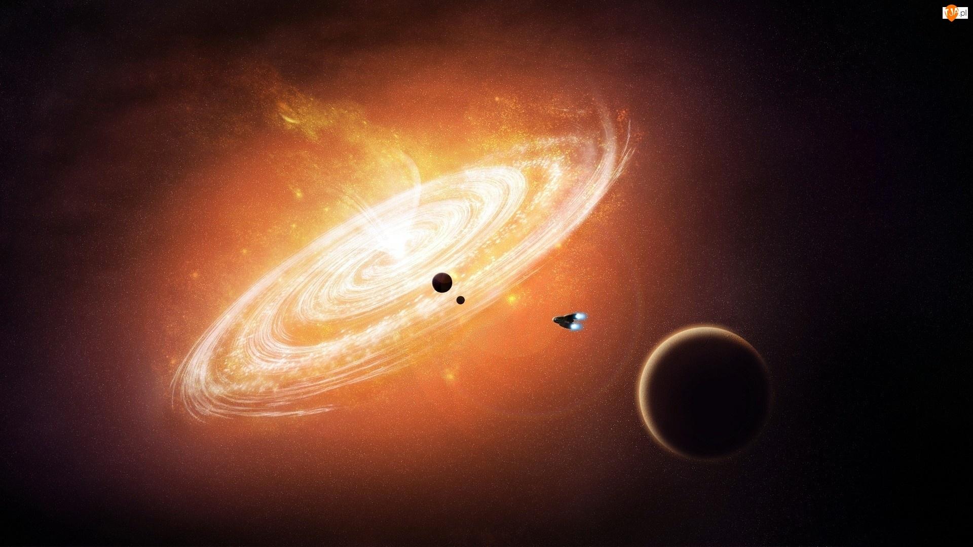Planety, Statek kosmiczny