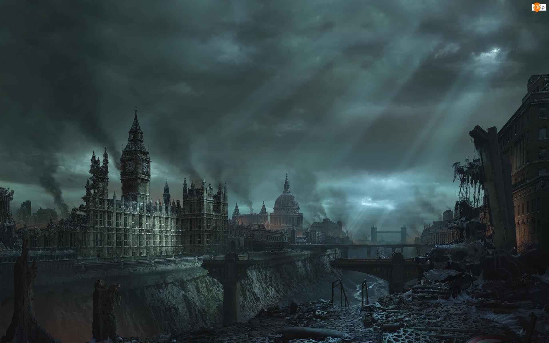 Big Ben, Londyn, Kataklizm