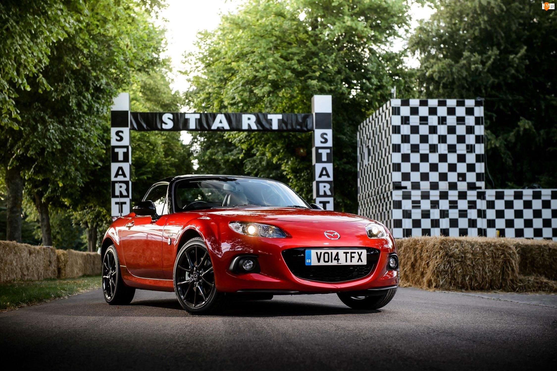 MX5, Czerwona, Mazda