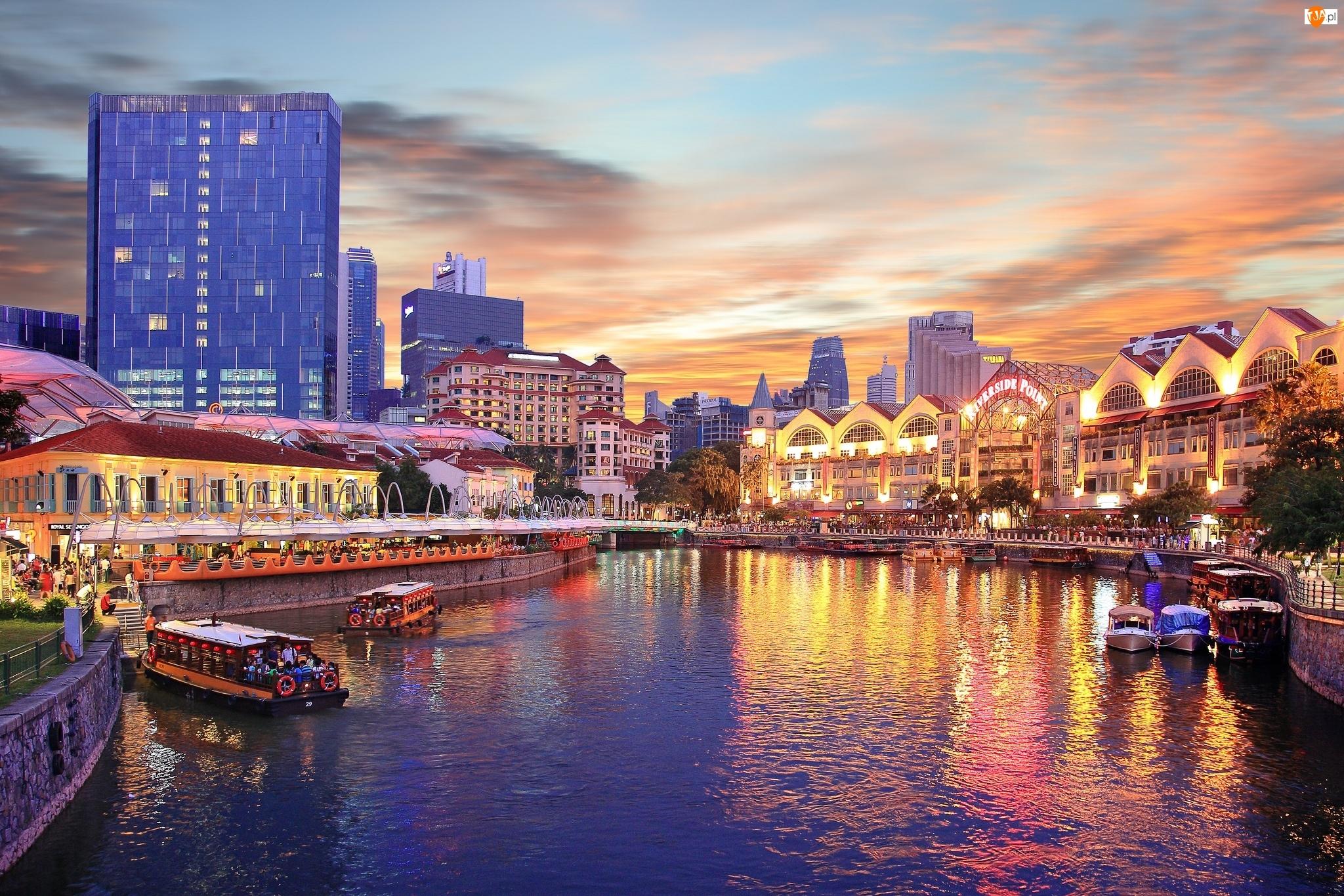 Singapur, Kanał