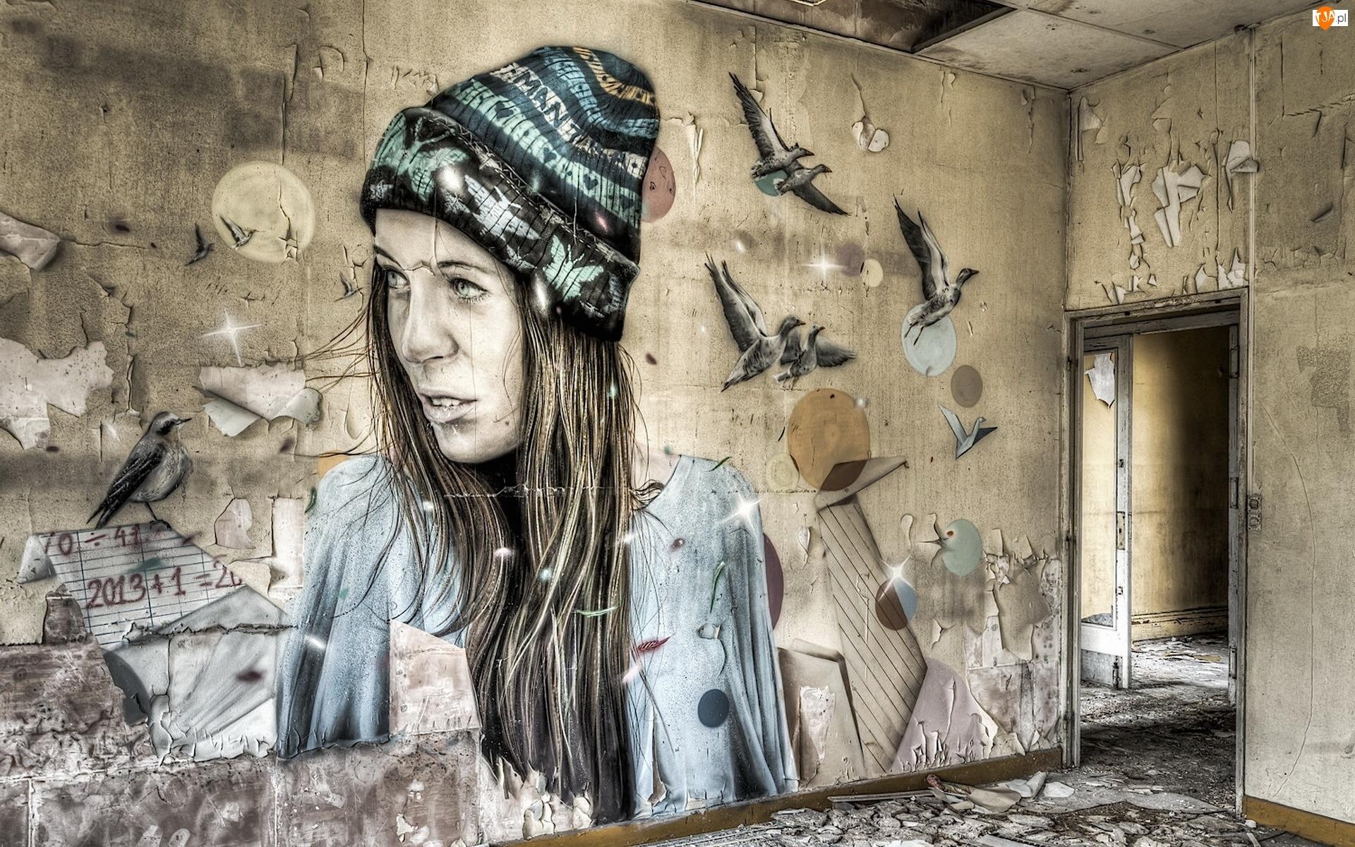 Ściana, Grafiti