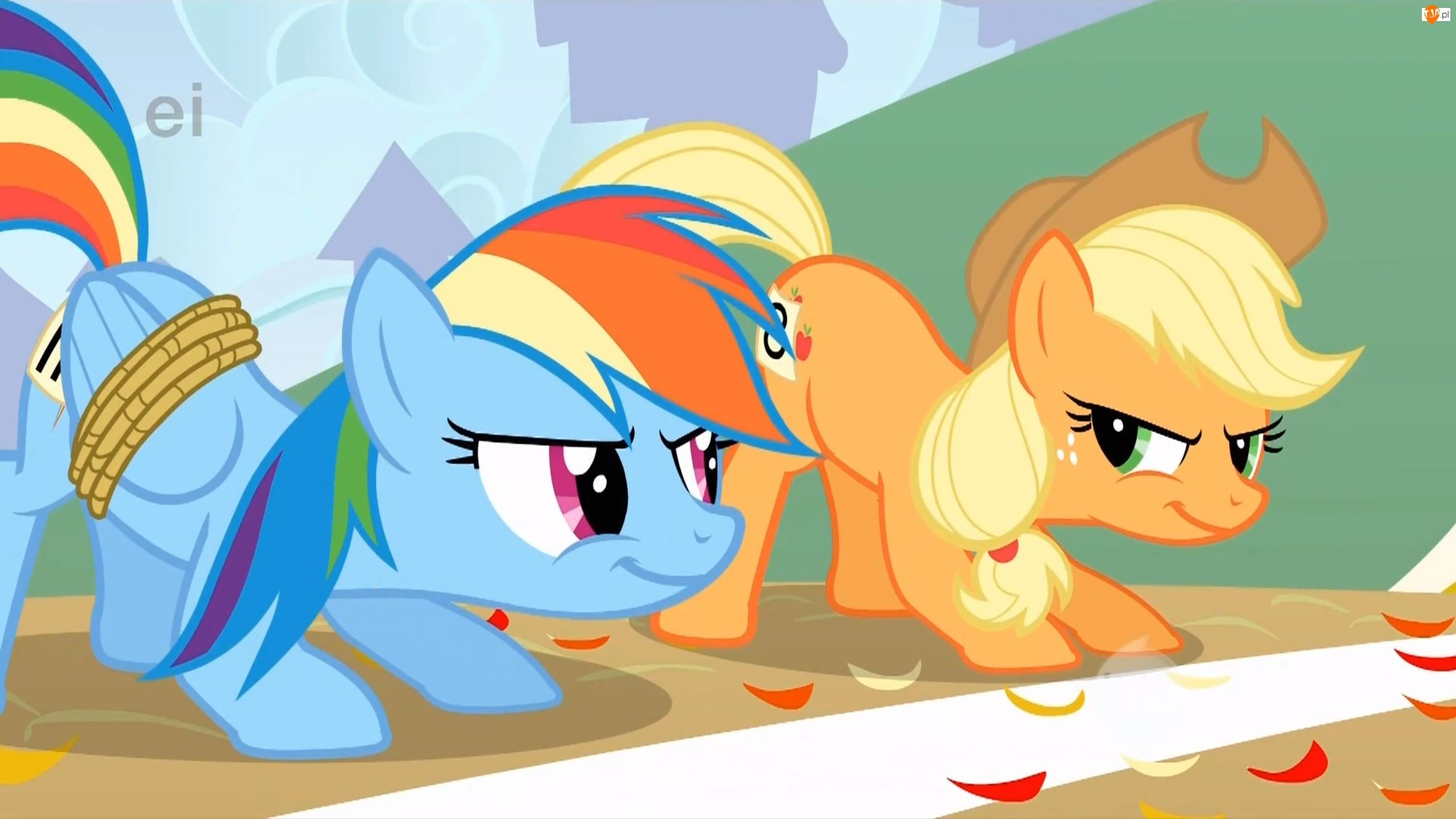 Rainbow dash, Applejack
