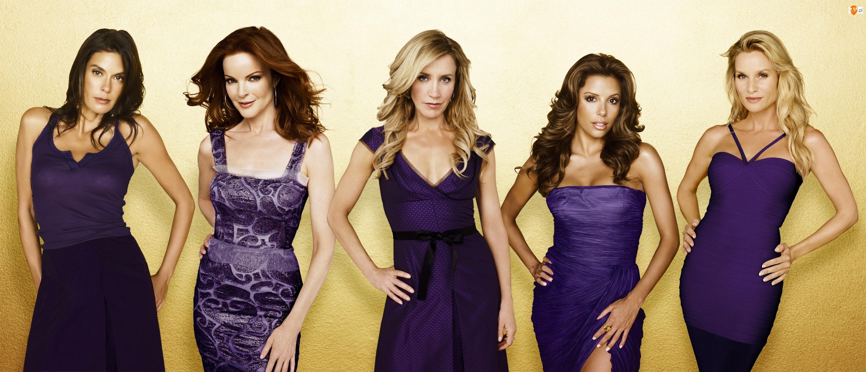 Desperate Housewives, Teri Hatcher, Felicity Huffman, Gotowe na wszystko, Eva Longoria, Nicollette Sheridan, Marcia Cross
