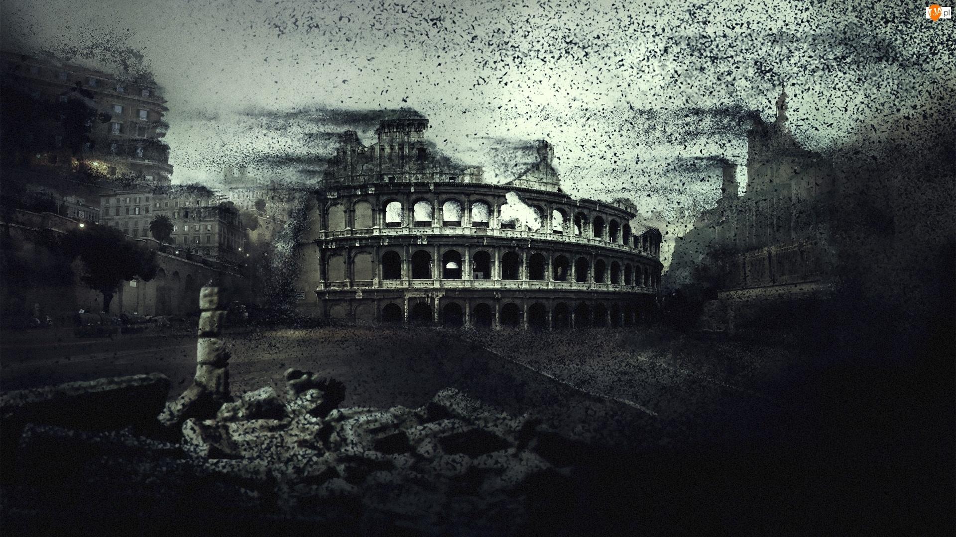 Apokalipsa, Koloseum, Rzym
