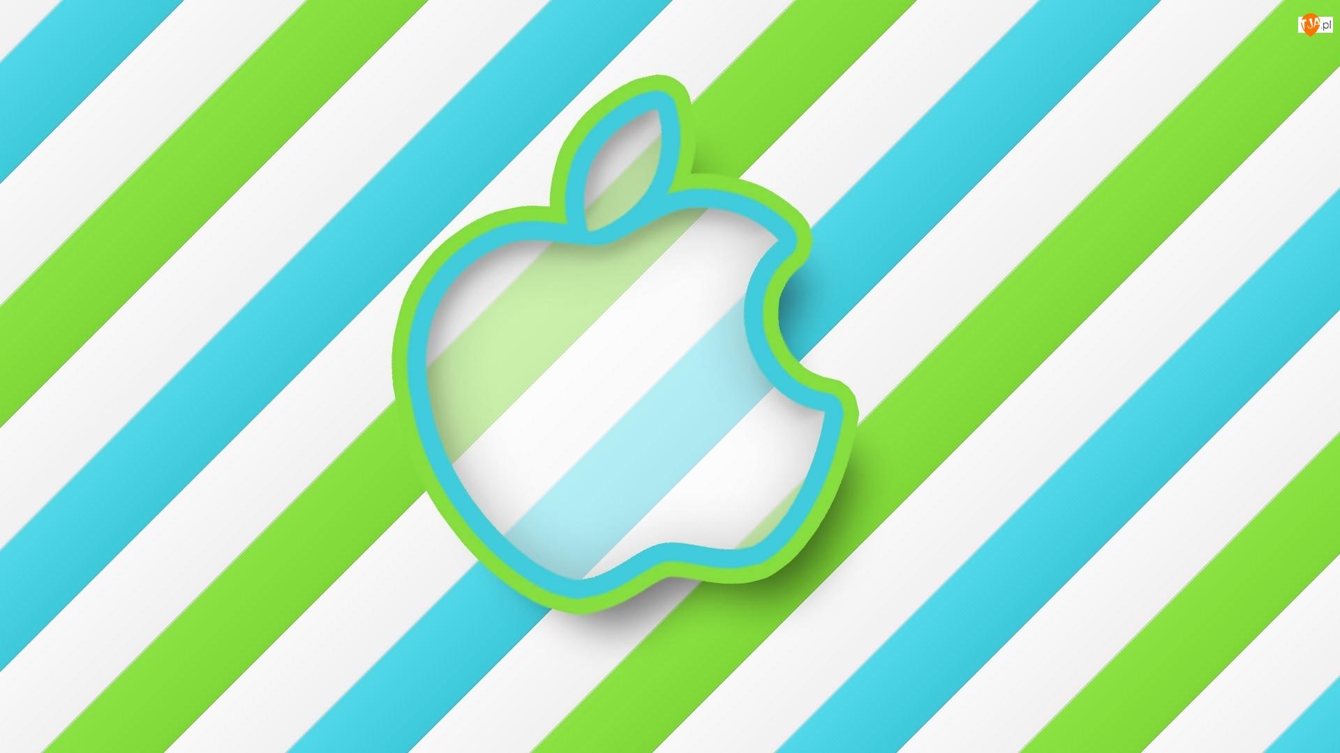 Grafika, Logo, Apple, 2D