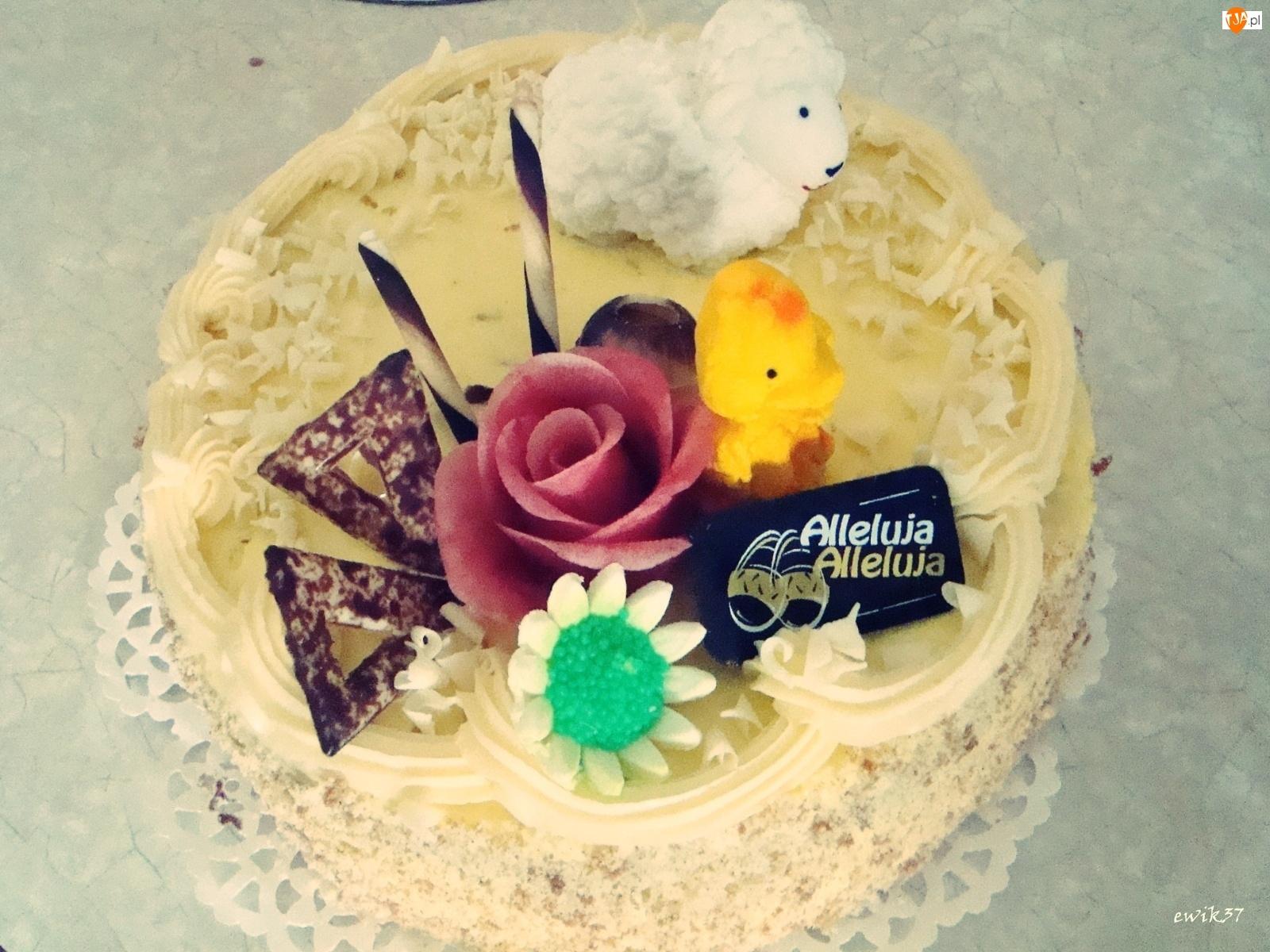 Ozdoby, Tort, Wielkanocne