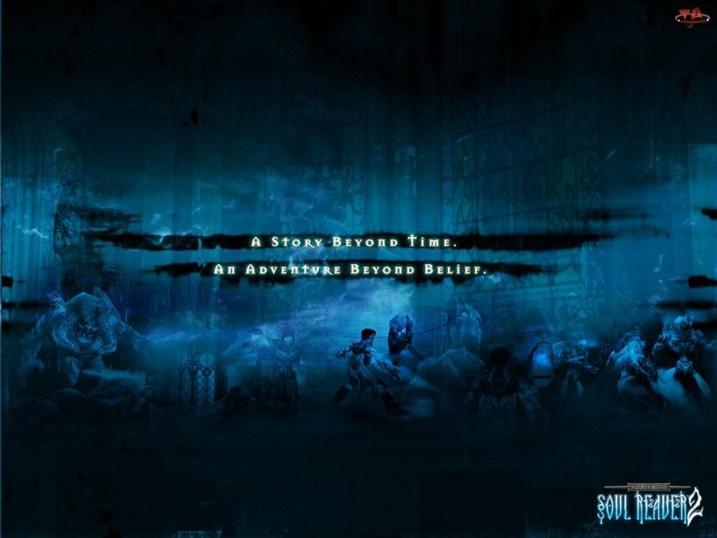Legacy Of Kain Soul Reaver 2, świątynia, postacie, potwór