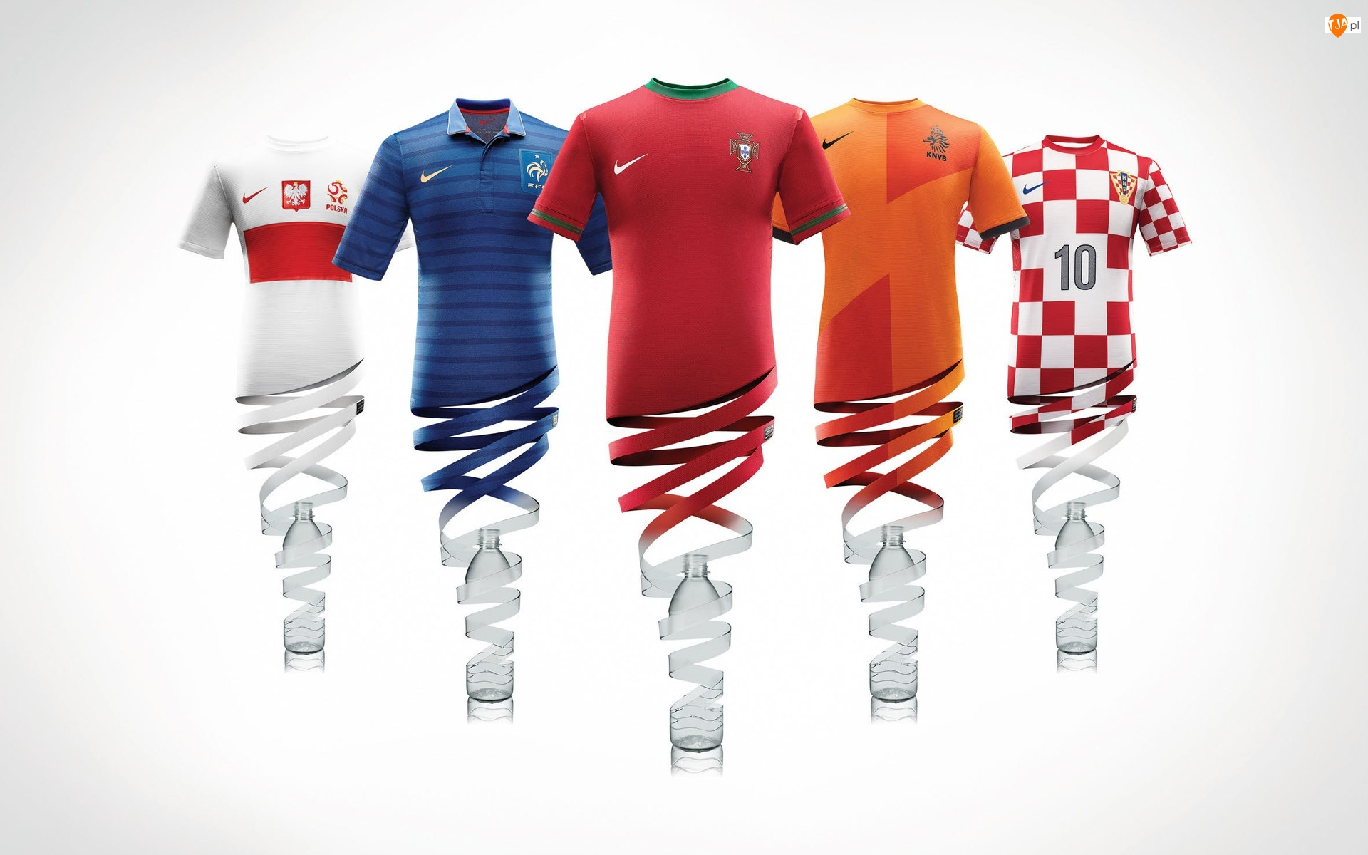 Euro 2012, Koszulki, Piłkarzy