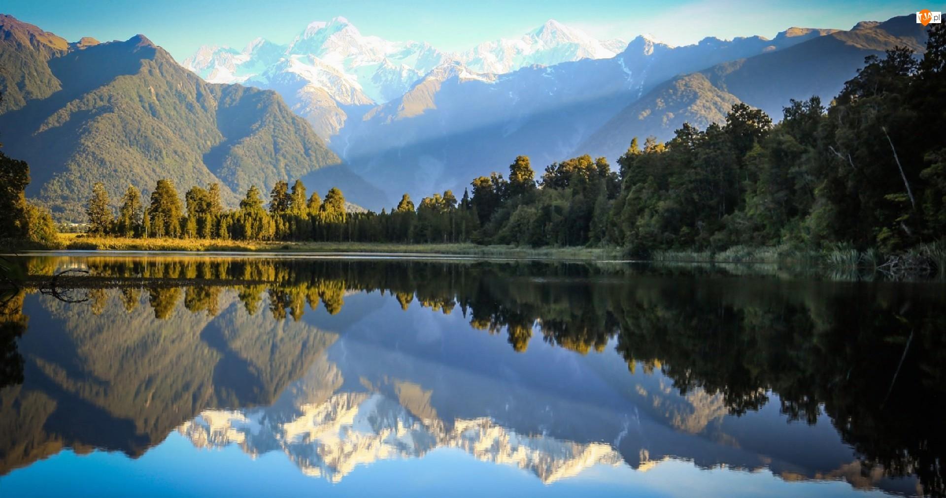 Jezioro, Góry, Lasy