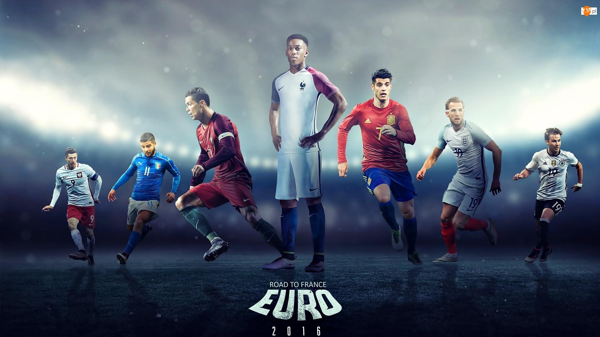 Euro 2016, Piłkarze