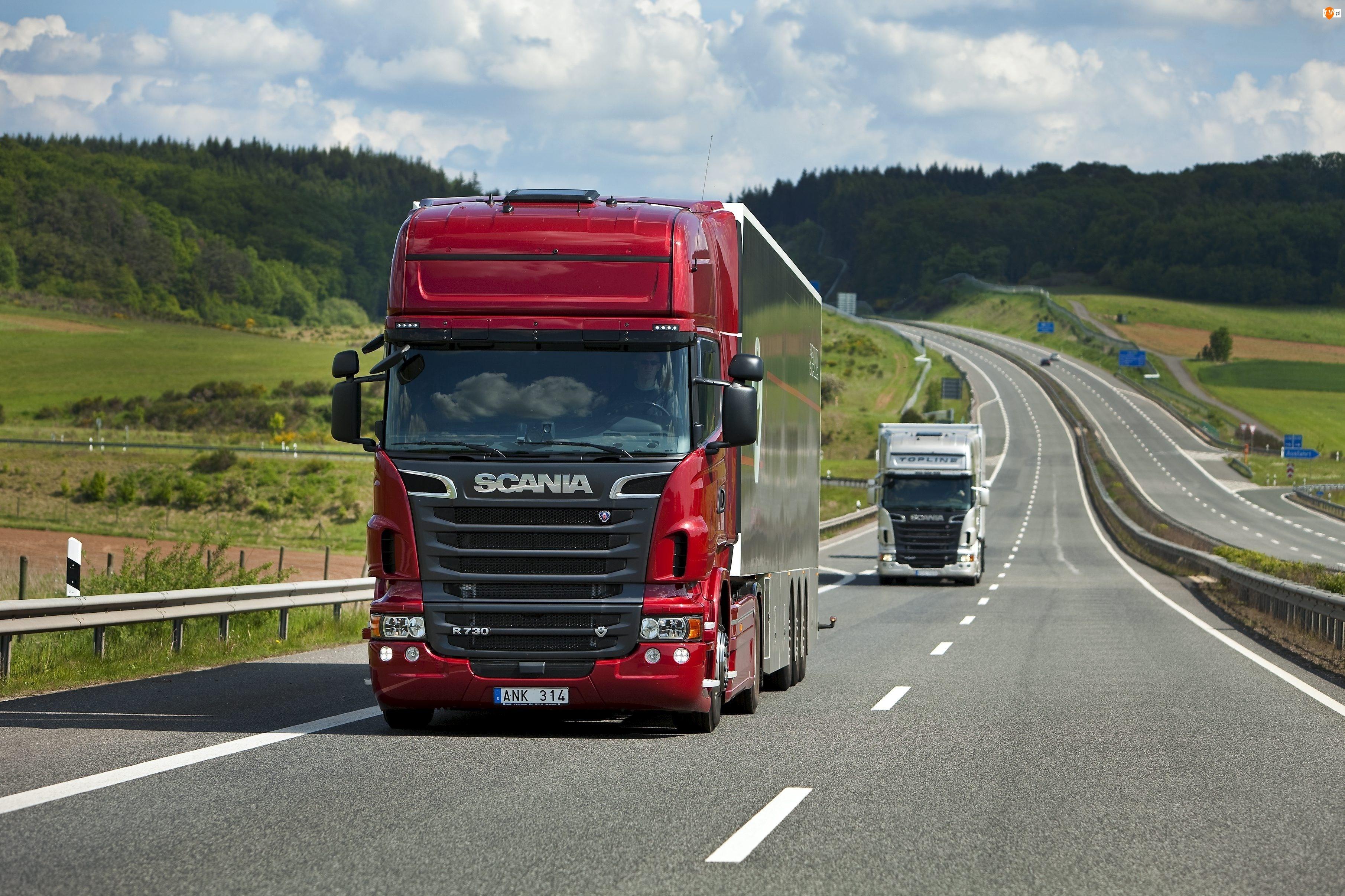 R730, Scania, Ciężarówka