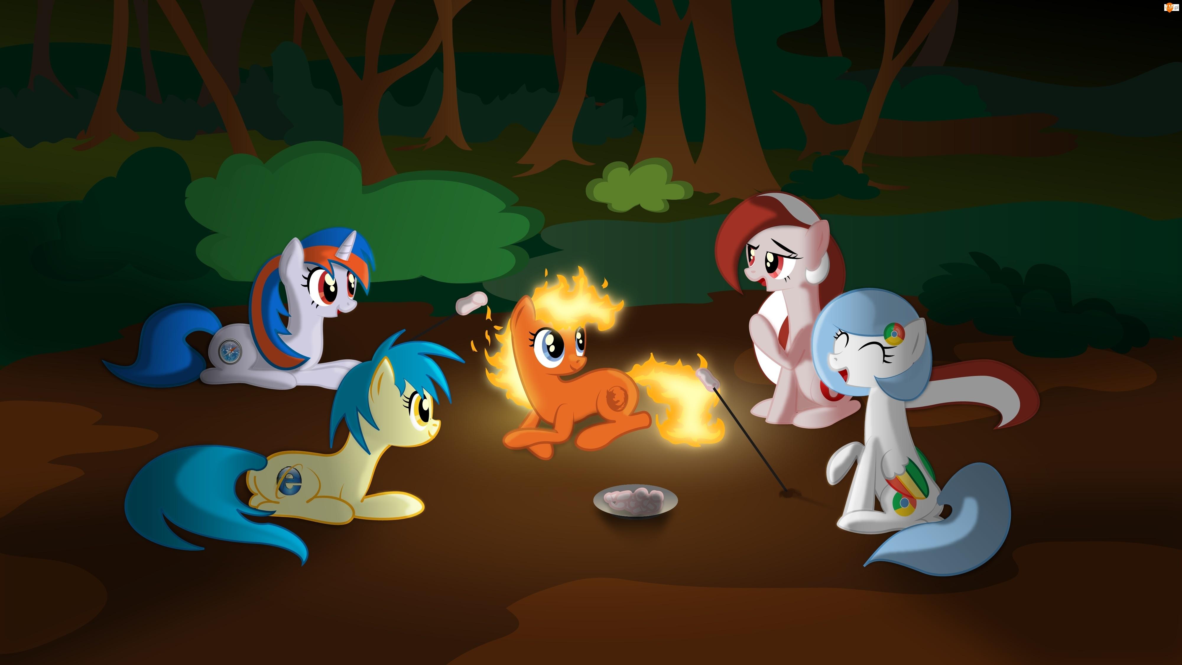 Mozila Firefox, Opera, Przeglądarki, Safari, Google Chrome, Internet Explorer