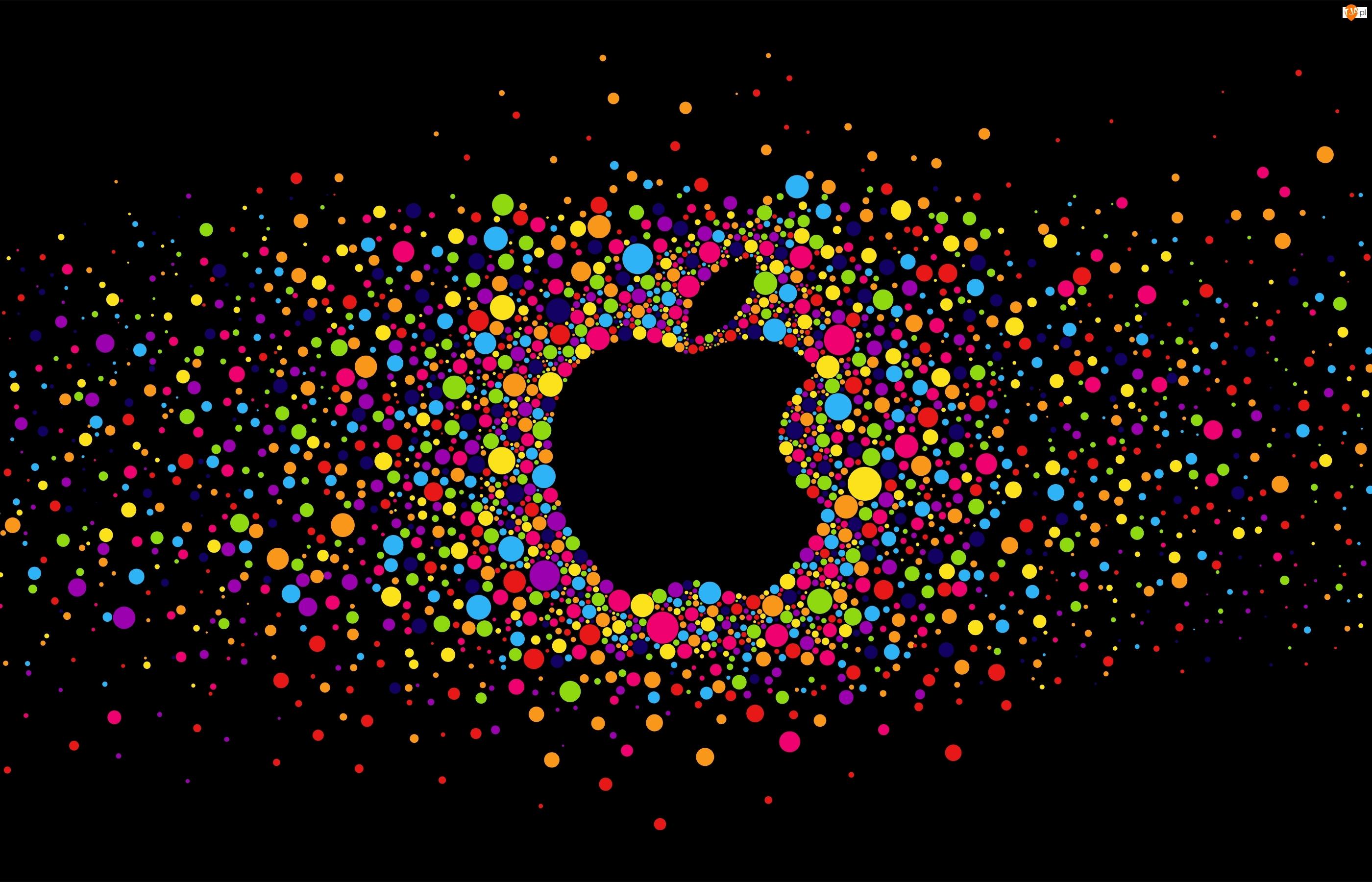 Apple, Koła  , Jabłko, Kolorowe