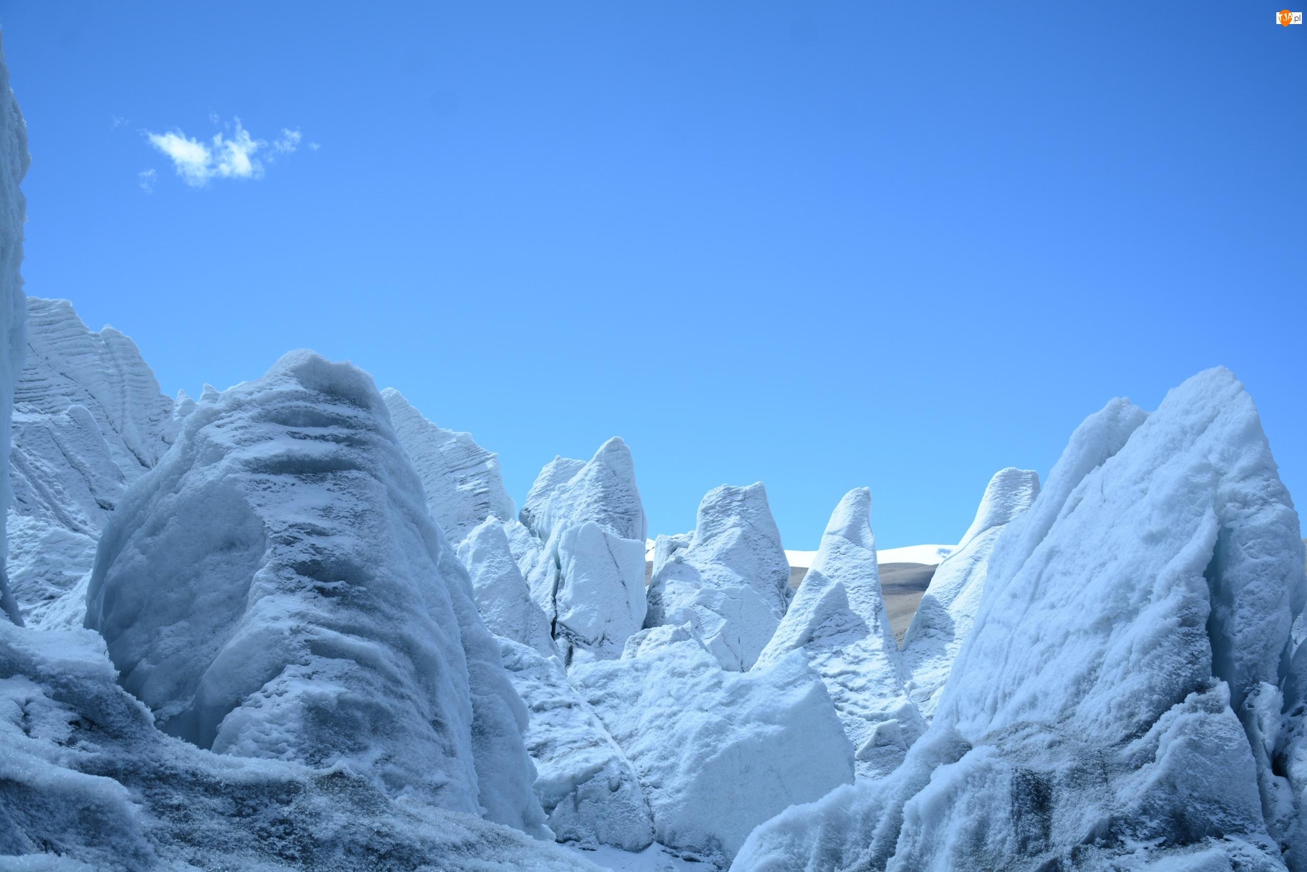 Antarktyda, Góry, Lodowe
