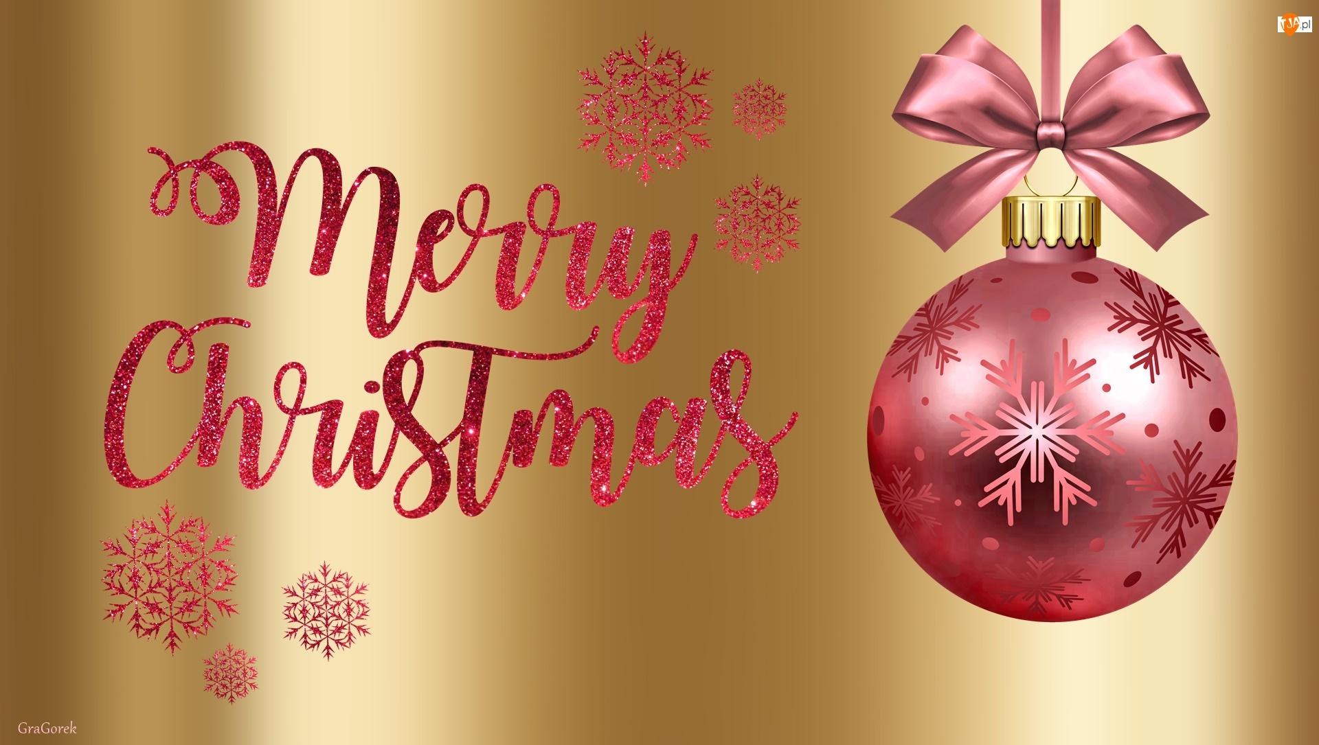 Życzenia, Grafika 2D, Świąteczne, Bombka