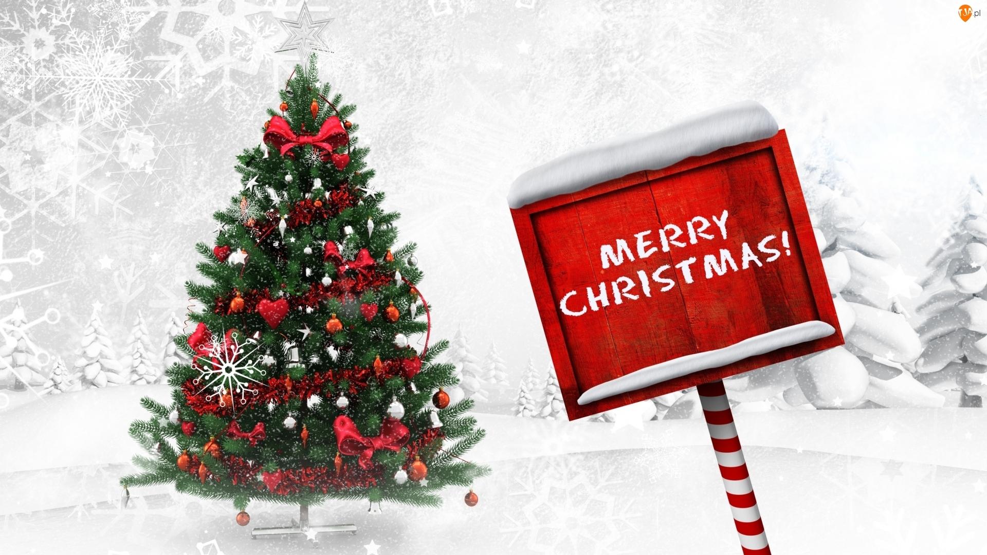 Życzenia, Boże Narodzenie, Choinka