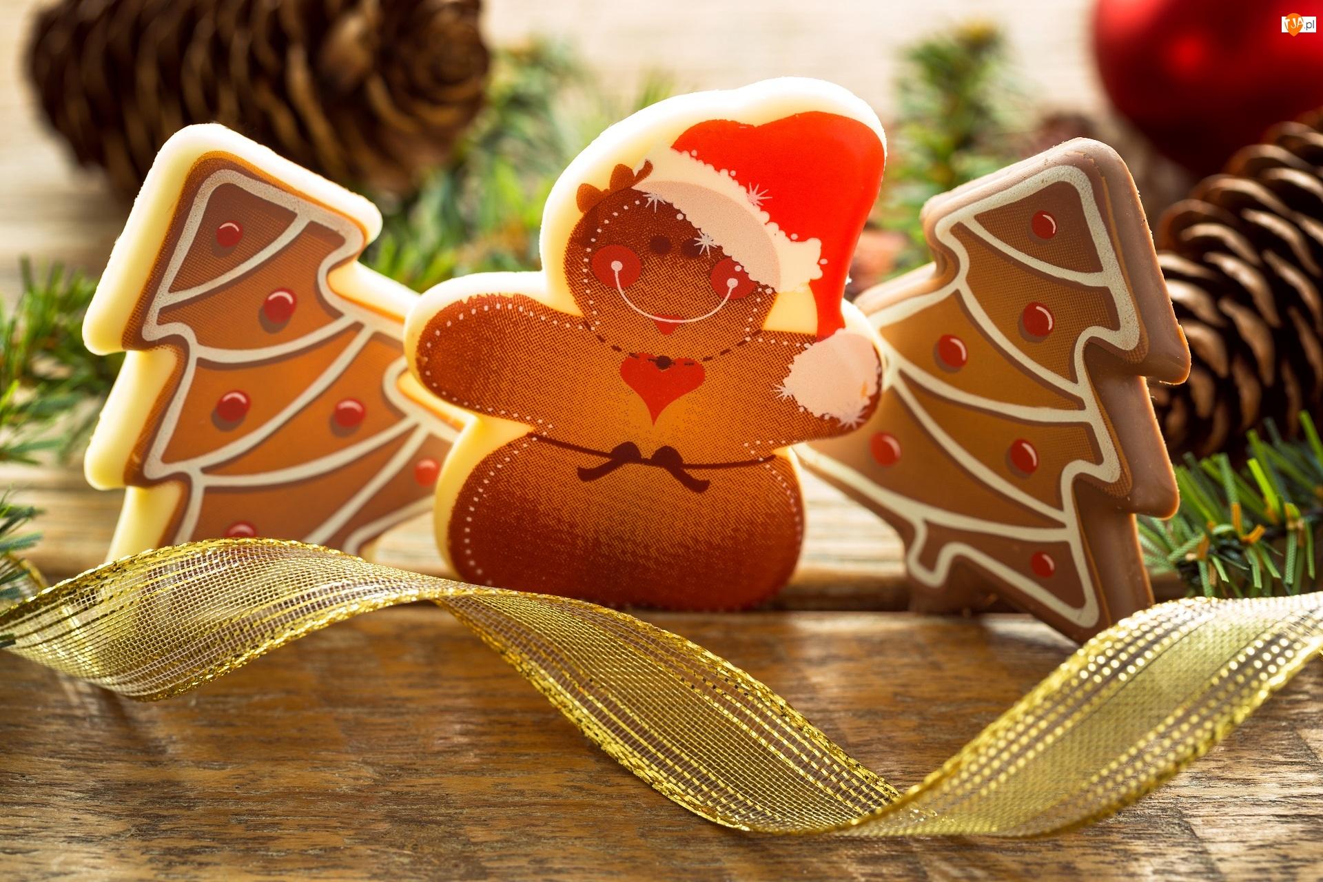 Boże Narodzenie, Bałwanek, Dekoracja, Pierniczki