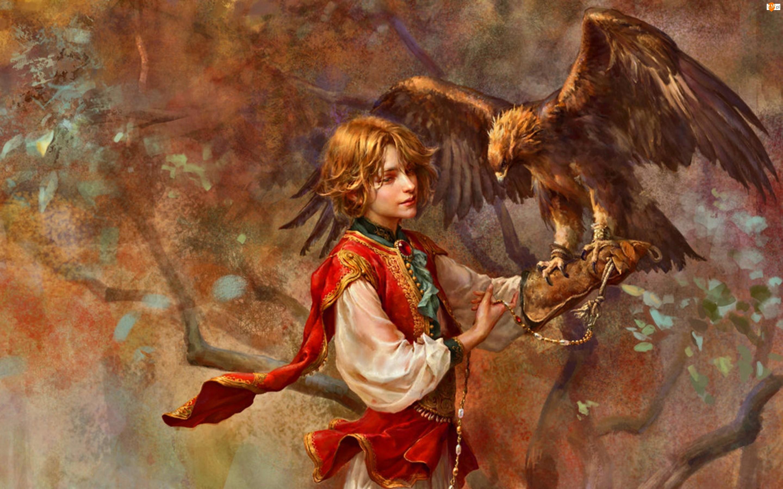 Malarstwo, Orzeł przedni, Obraz, Chłopiec