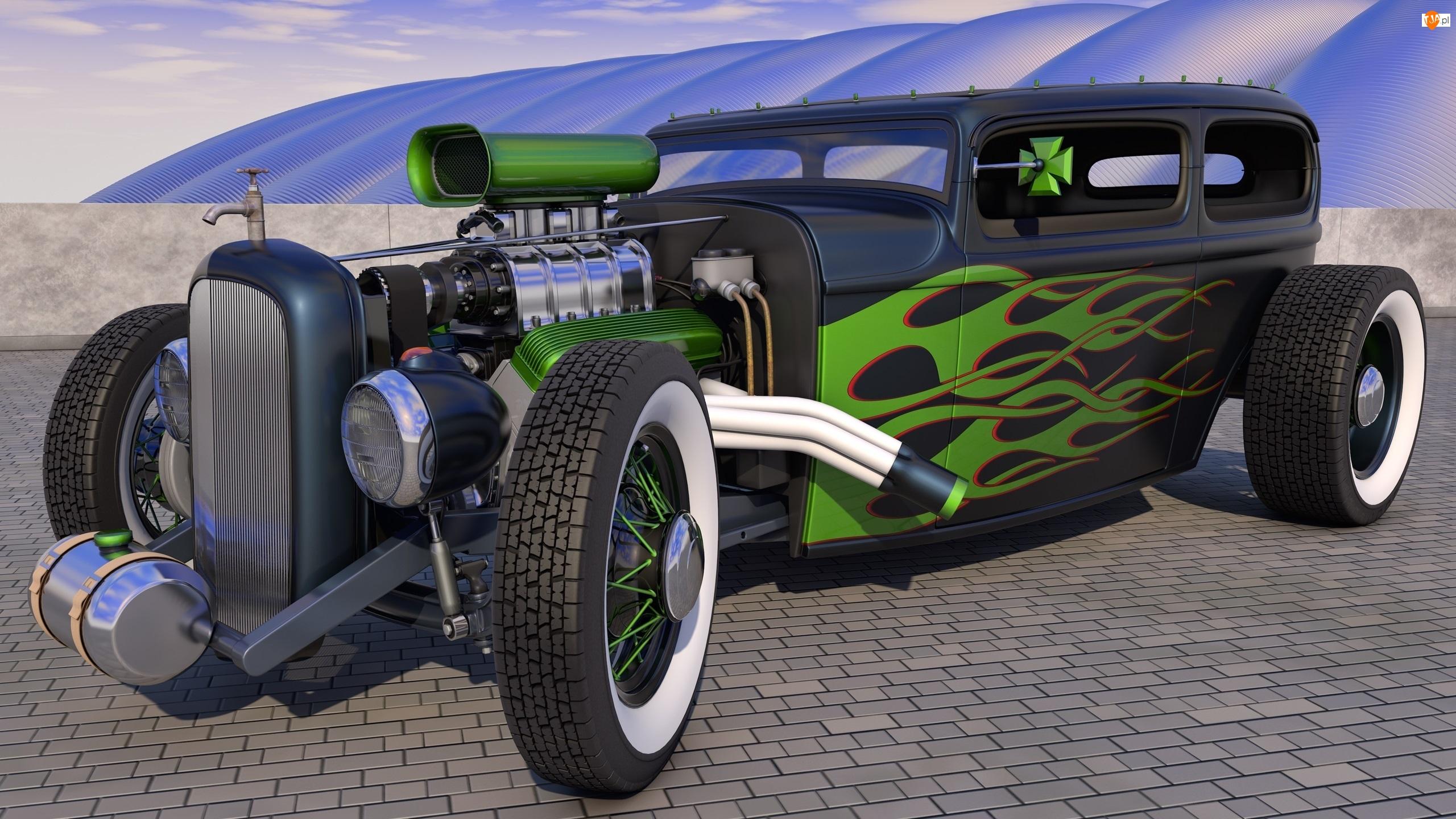Hot Rod, Ford, Składak