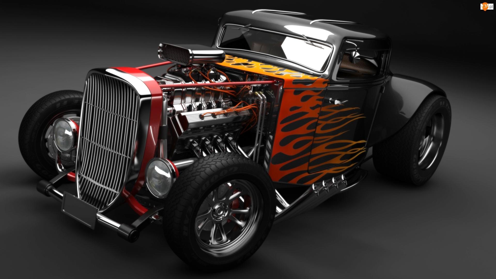 Hot Rod, Samochód, Ford