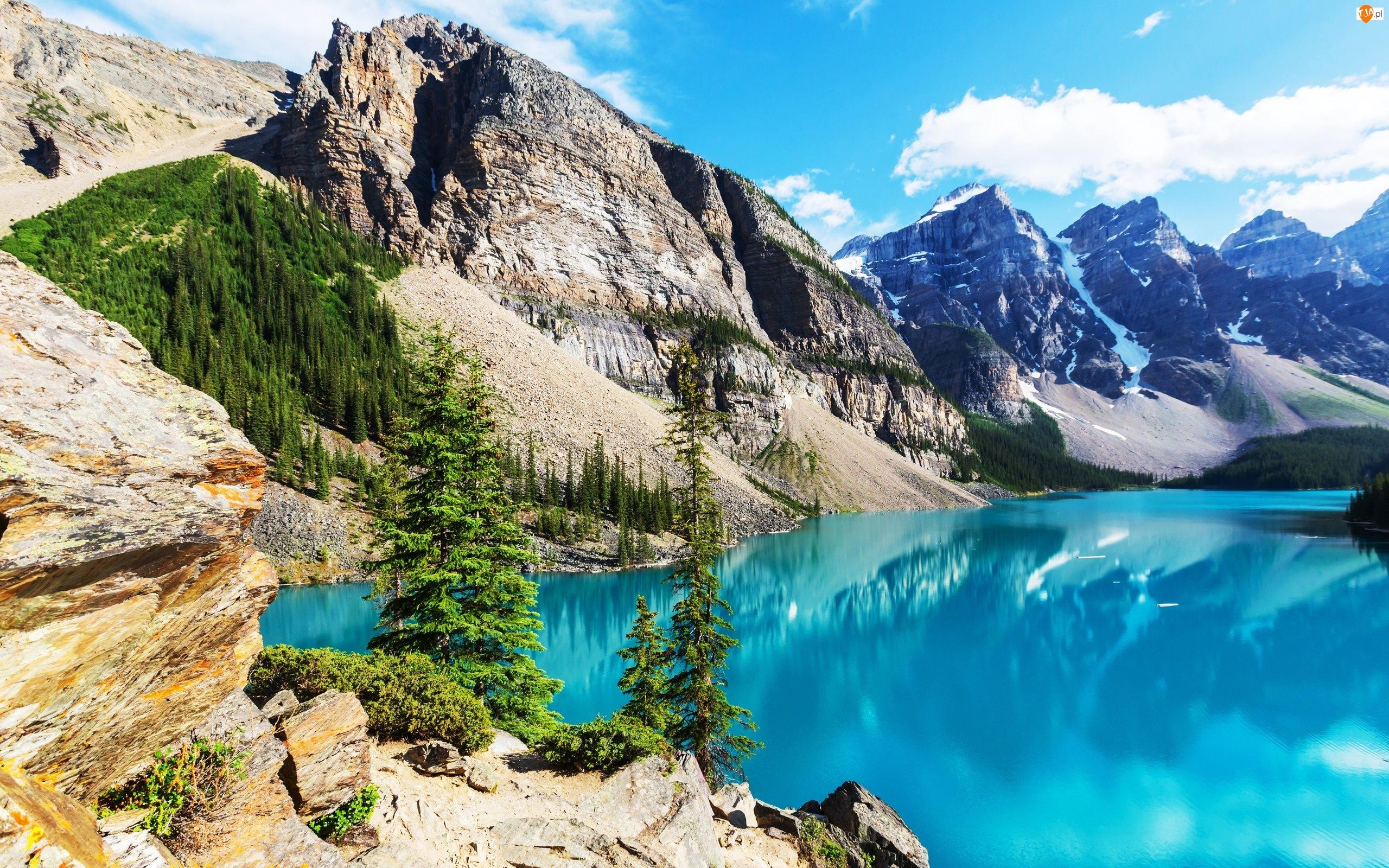 Jezioro Moraine, Kanada, Park Narodowy Banff