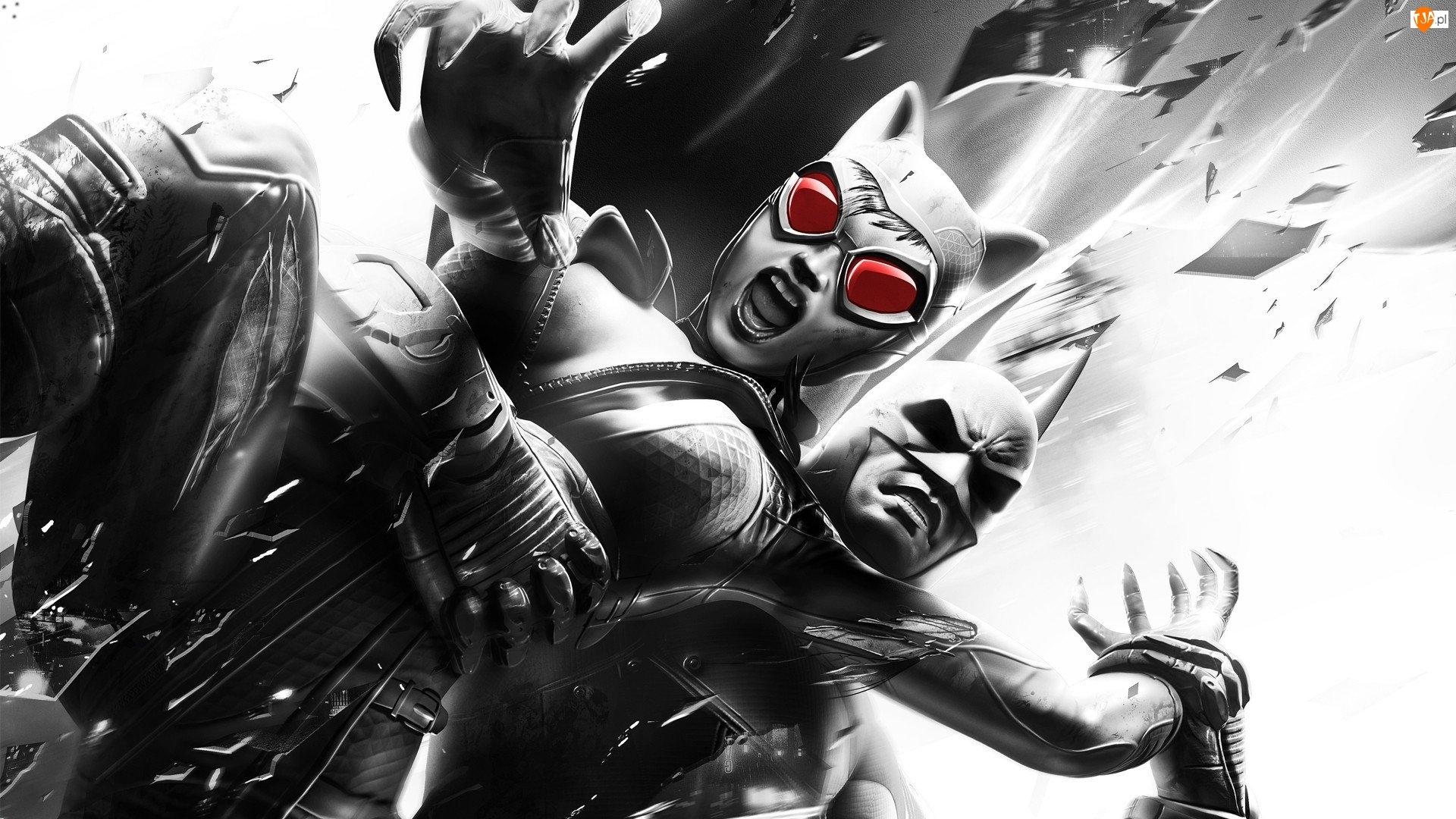 Catwoman, Batman, Arkham City