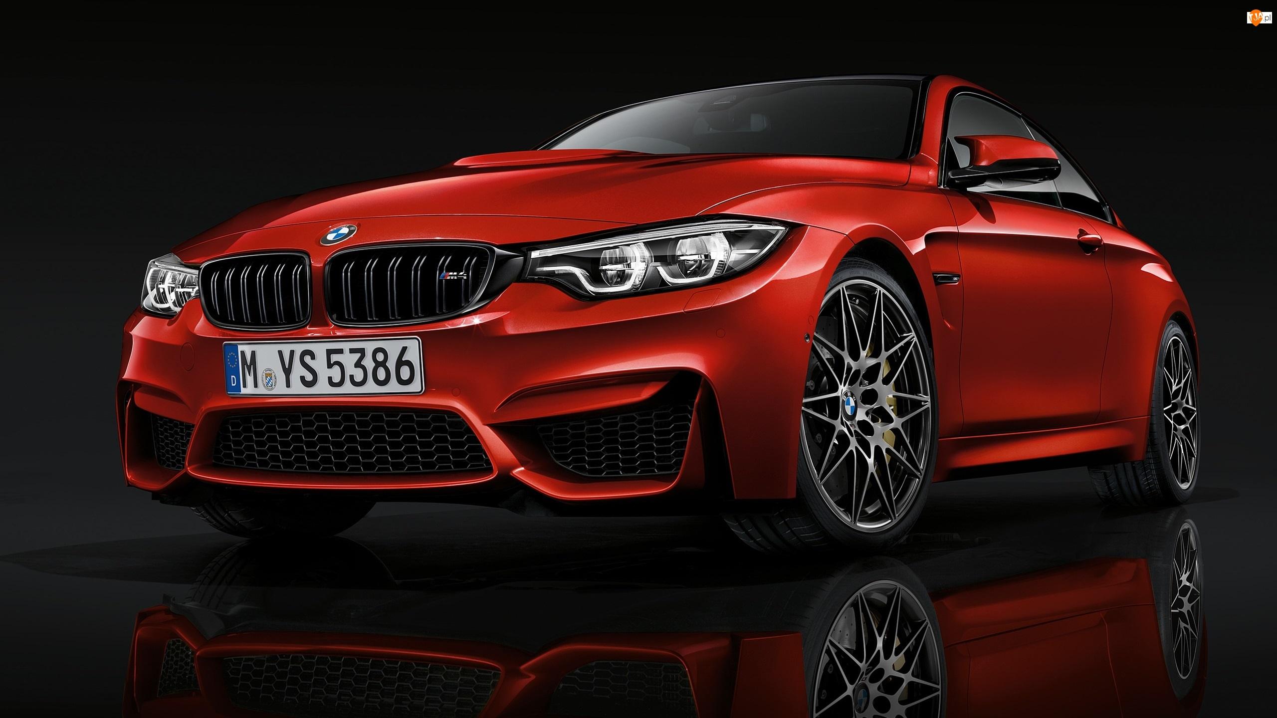 Bmw M4 Czerwone