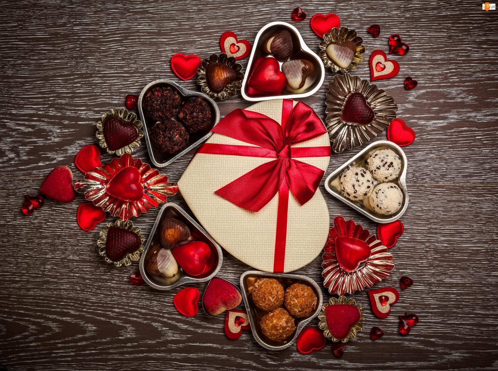 Serca, Walentynki, Słodycze