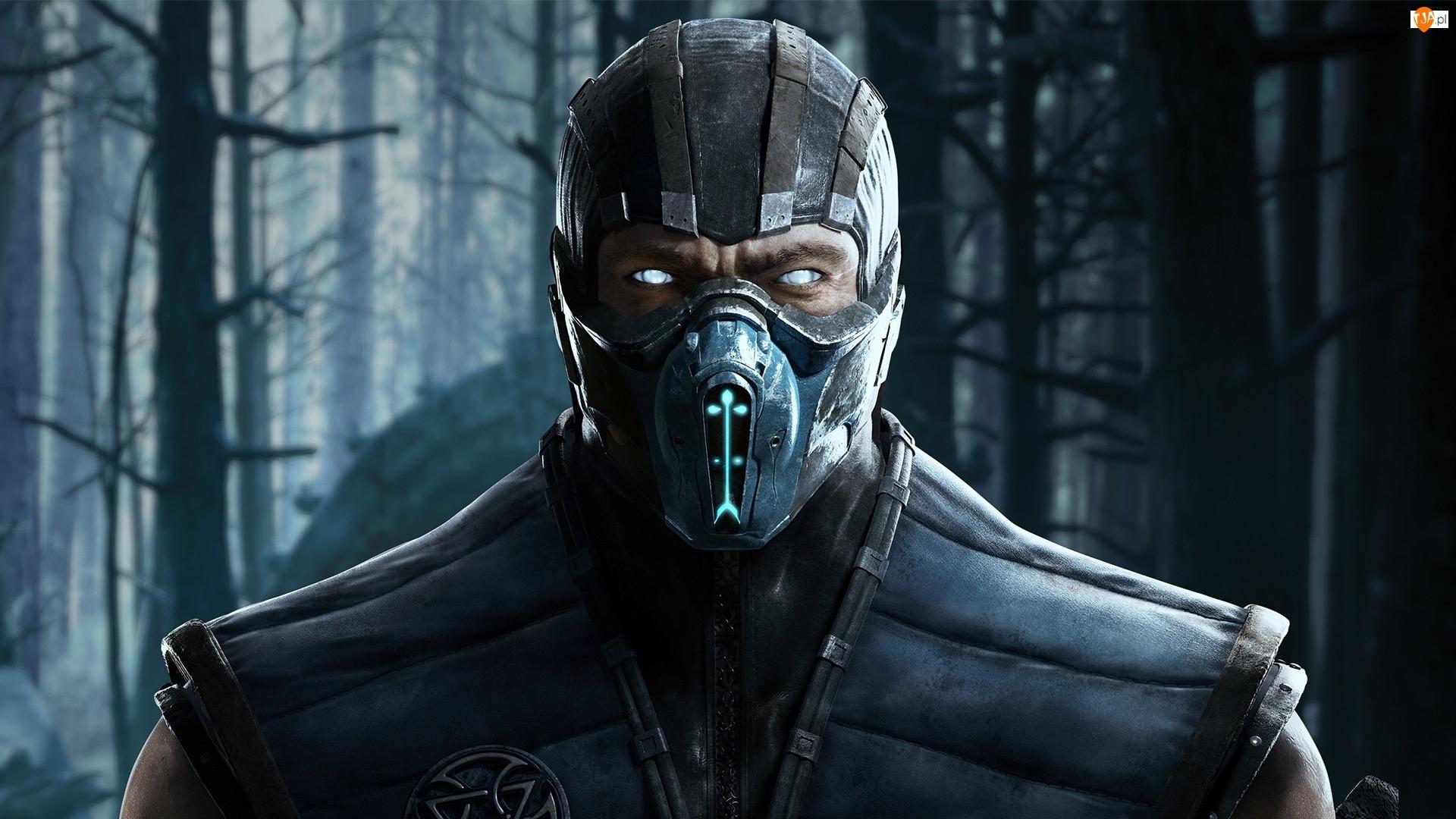 Wojownik, Mortal Kombat, Sub-zero, Gra