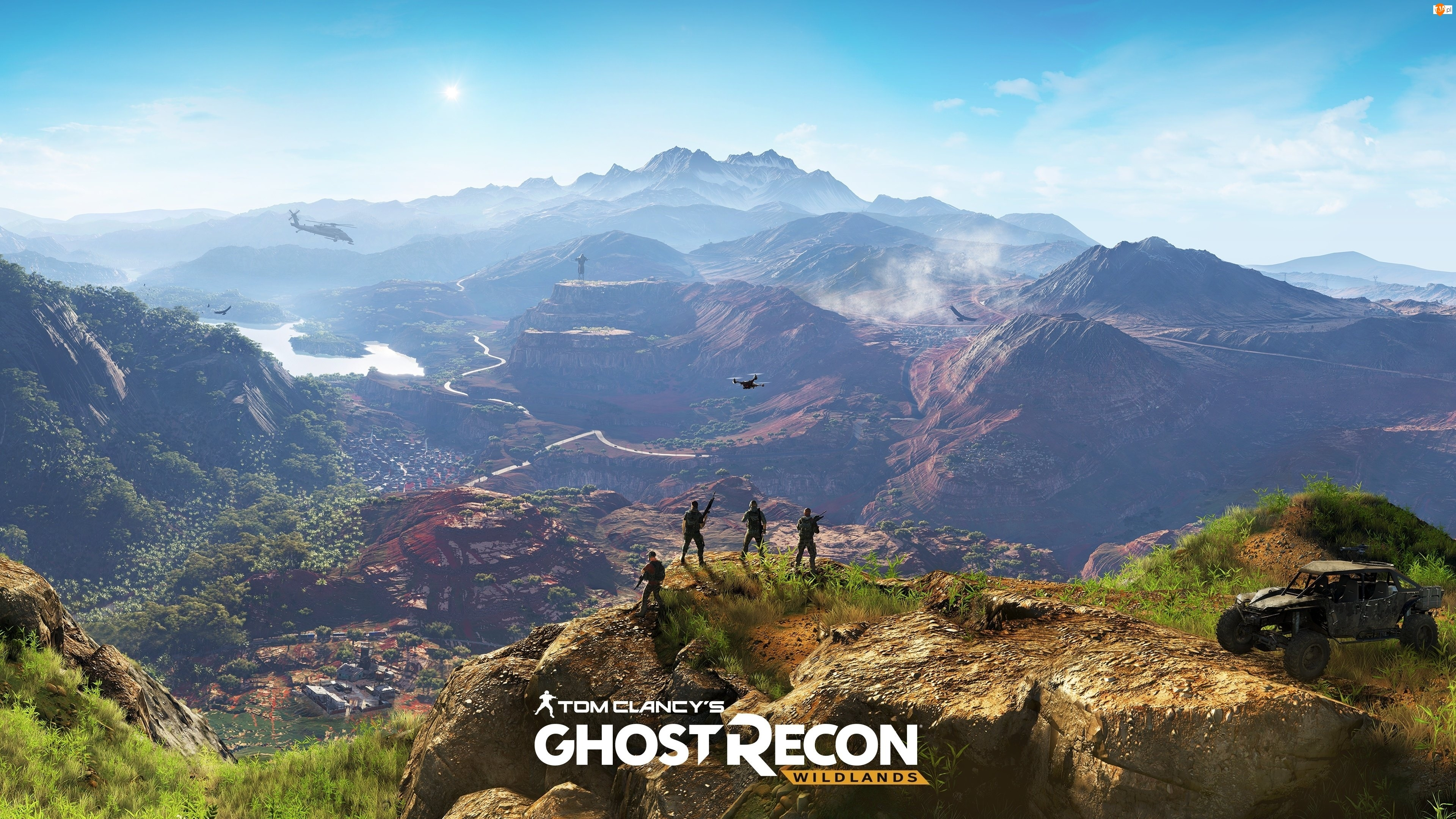 Tom Clancy's Ghost Recon: Wildlands, Góry