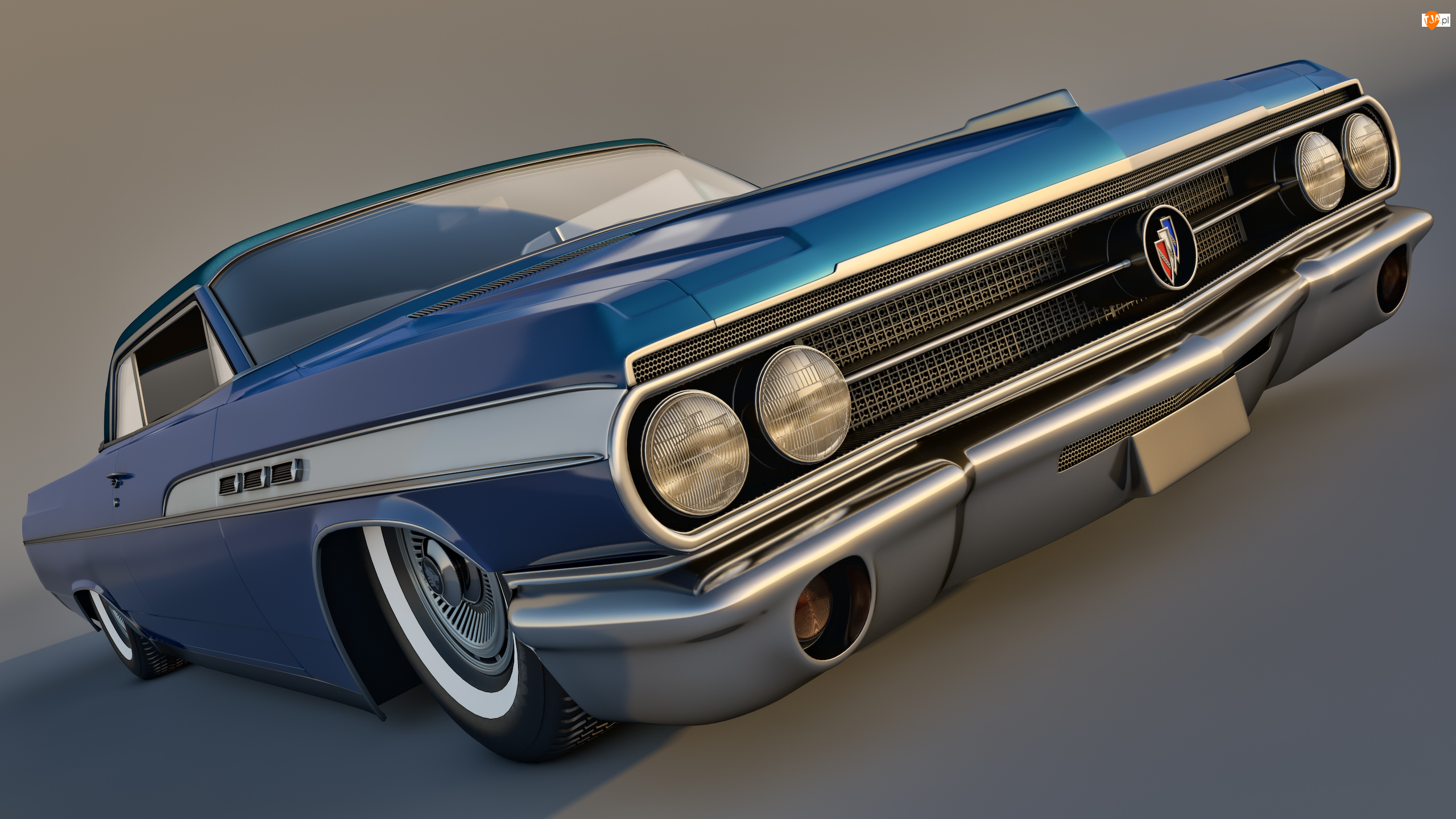 1963, Zabytkowy, Buick Wildcat MK1 Convertible
