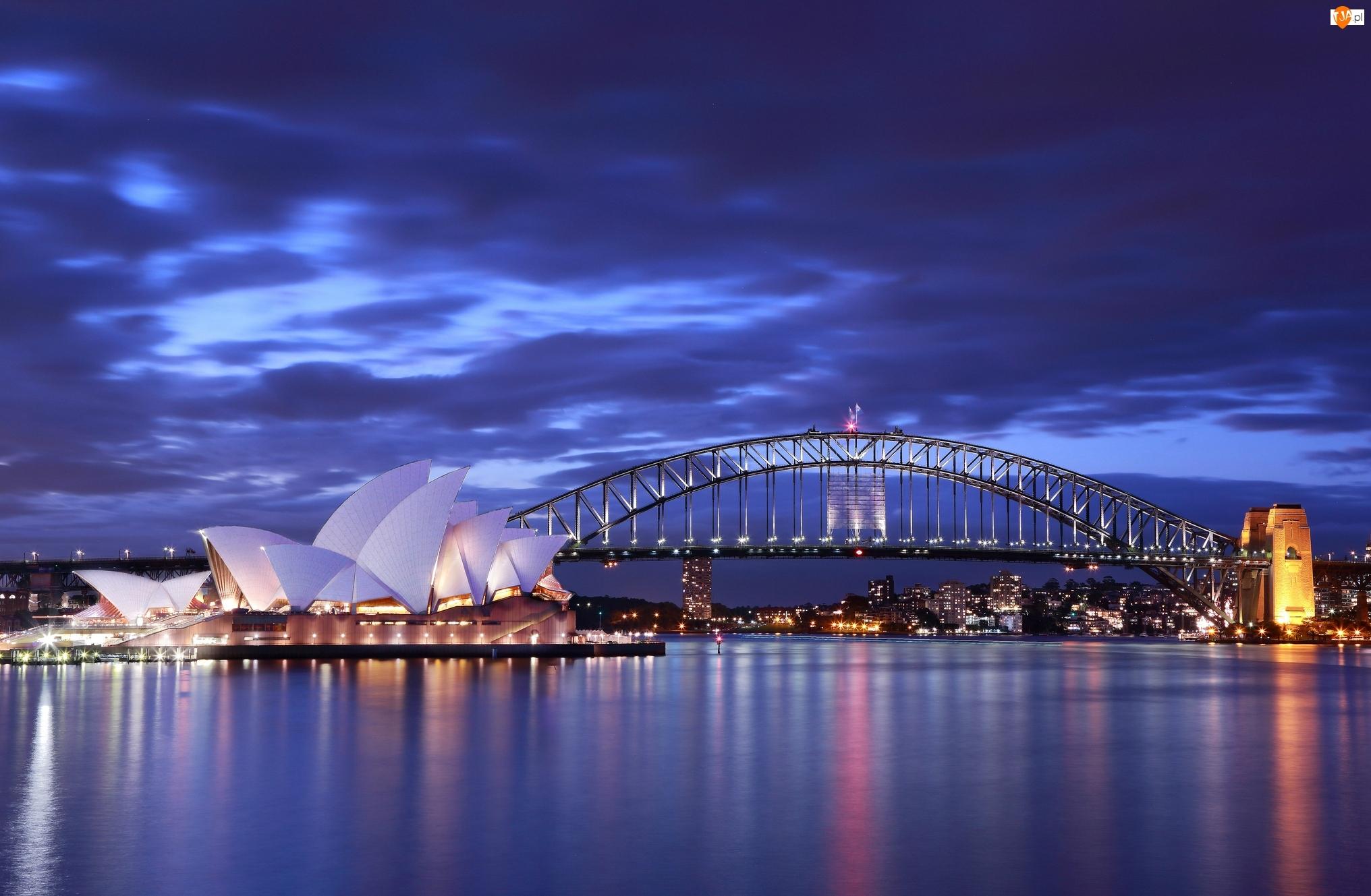 Most Sydney Harbour Bridge, Sydney, Opera