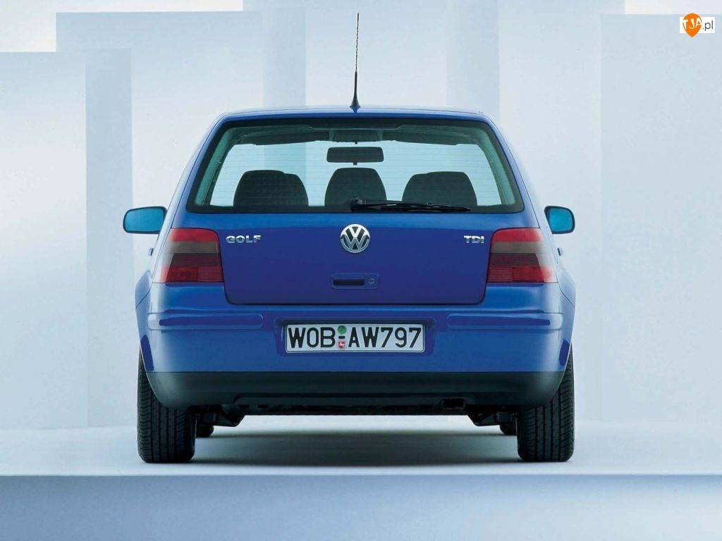 Lampy, Volkswagen Golf 4, Tył