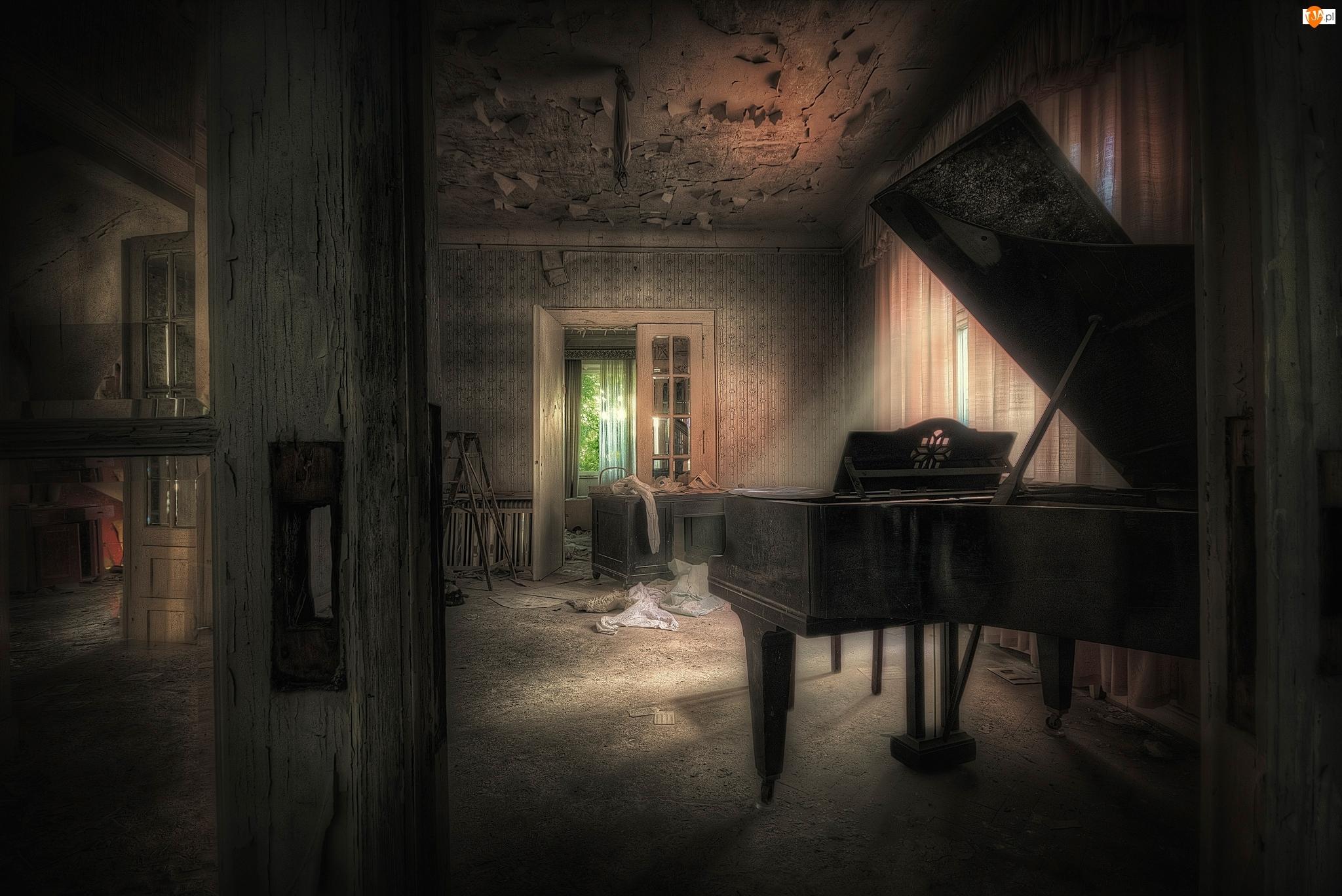 Fortepian, Drzwi