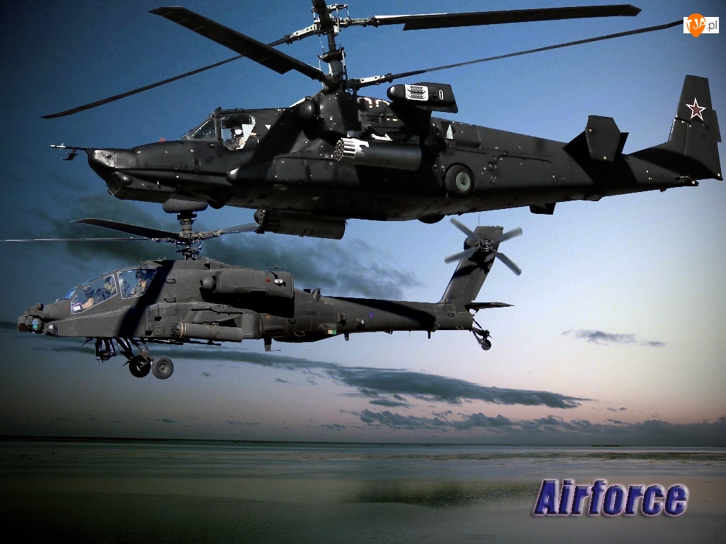 Ka 50, Apache, Kasatka