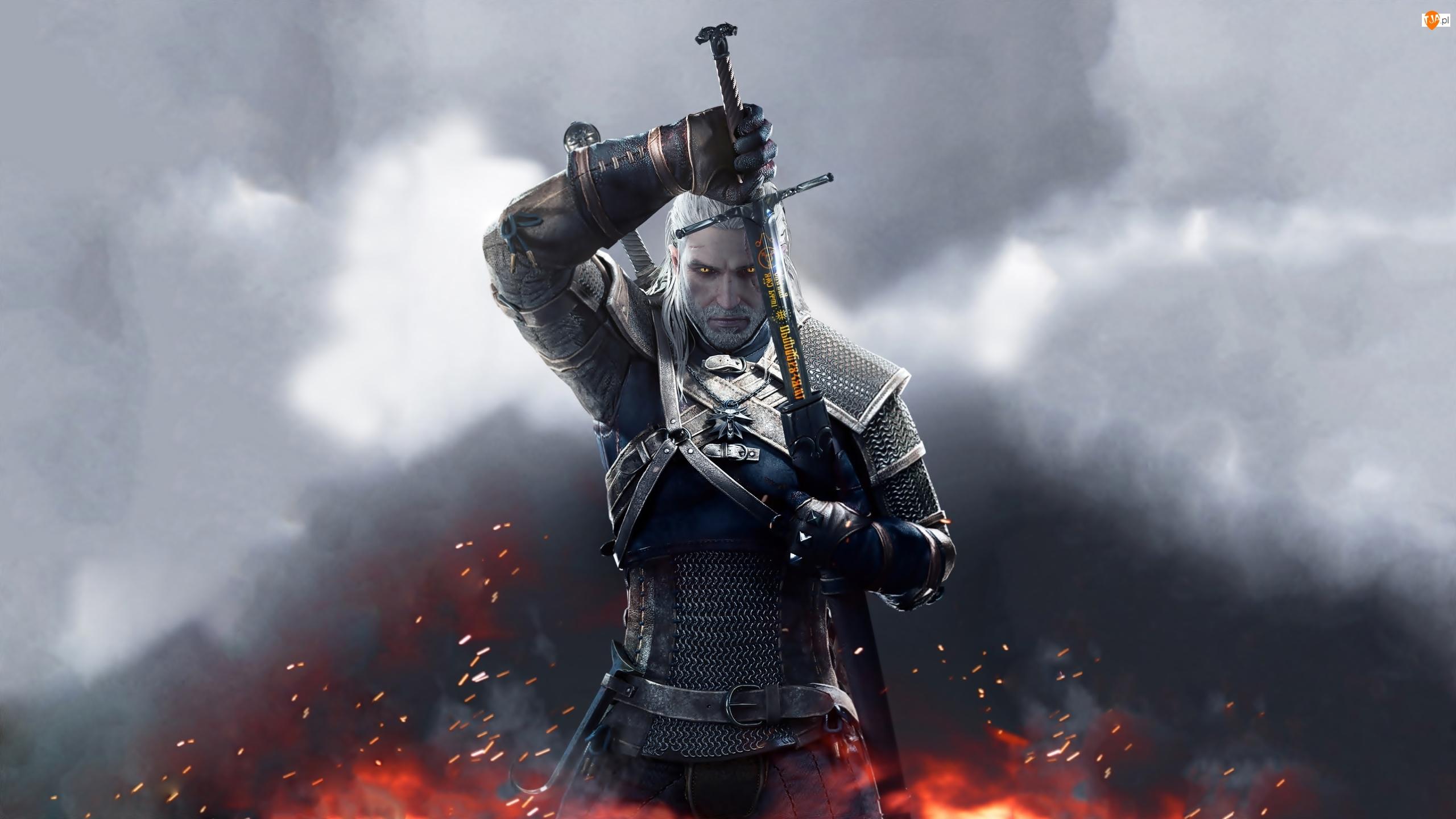 Gra, Wiedźmin 3: Dziki Gon, Miecz, Geralt