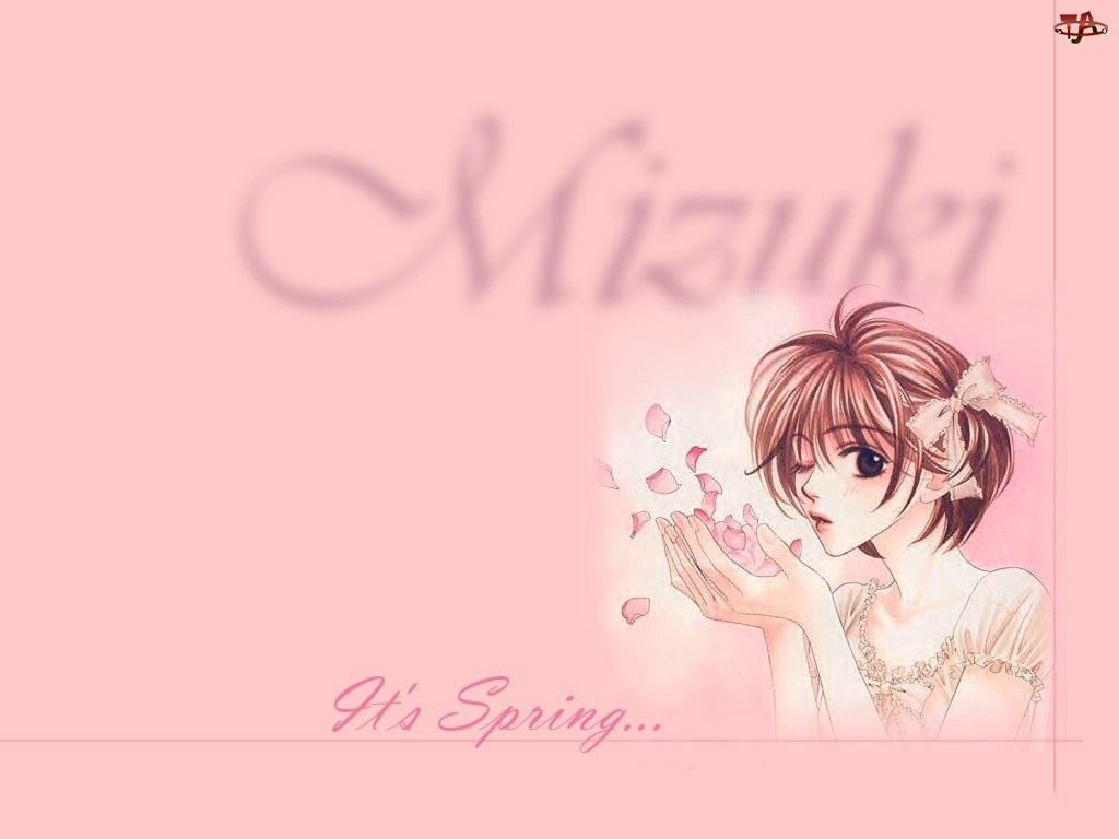 Hana Zakari No Kimitachi E, dziewczyna, płatki, kwiatki