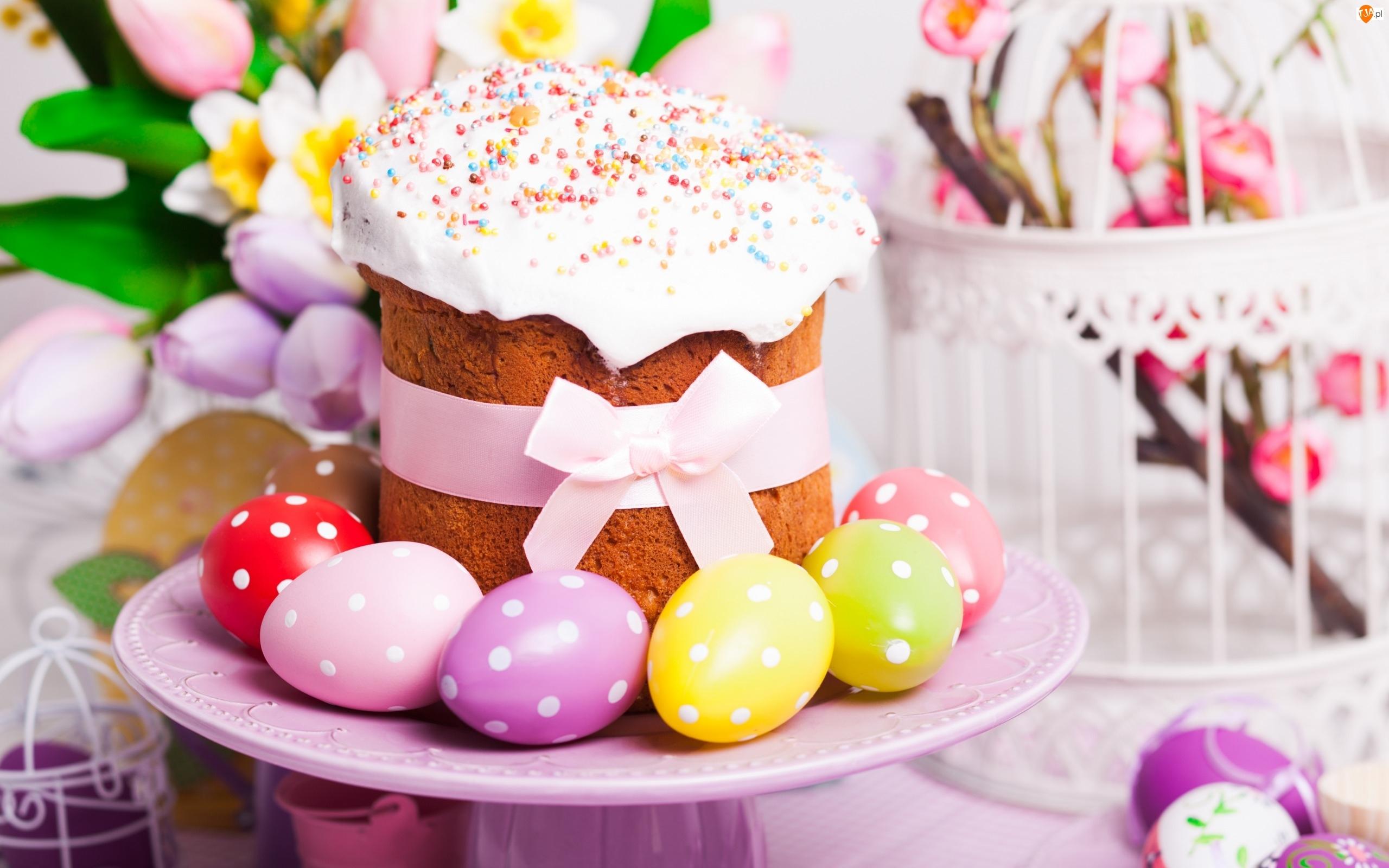 Wielkanoc, Ciasto, Jajka, Pisanki