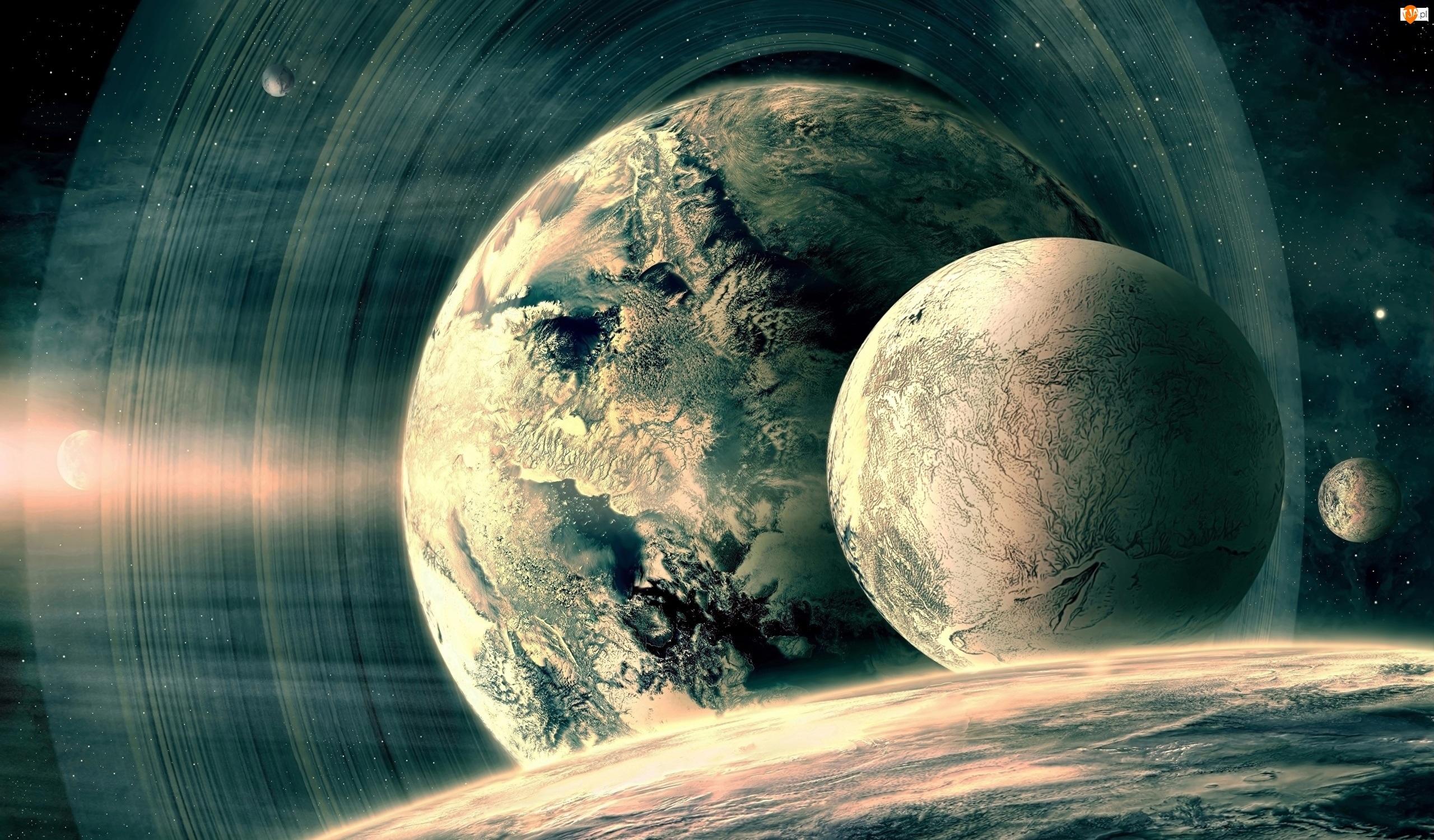 Planety, Grafika 3D