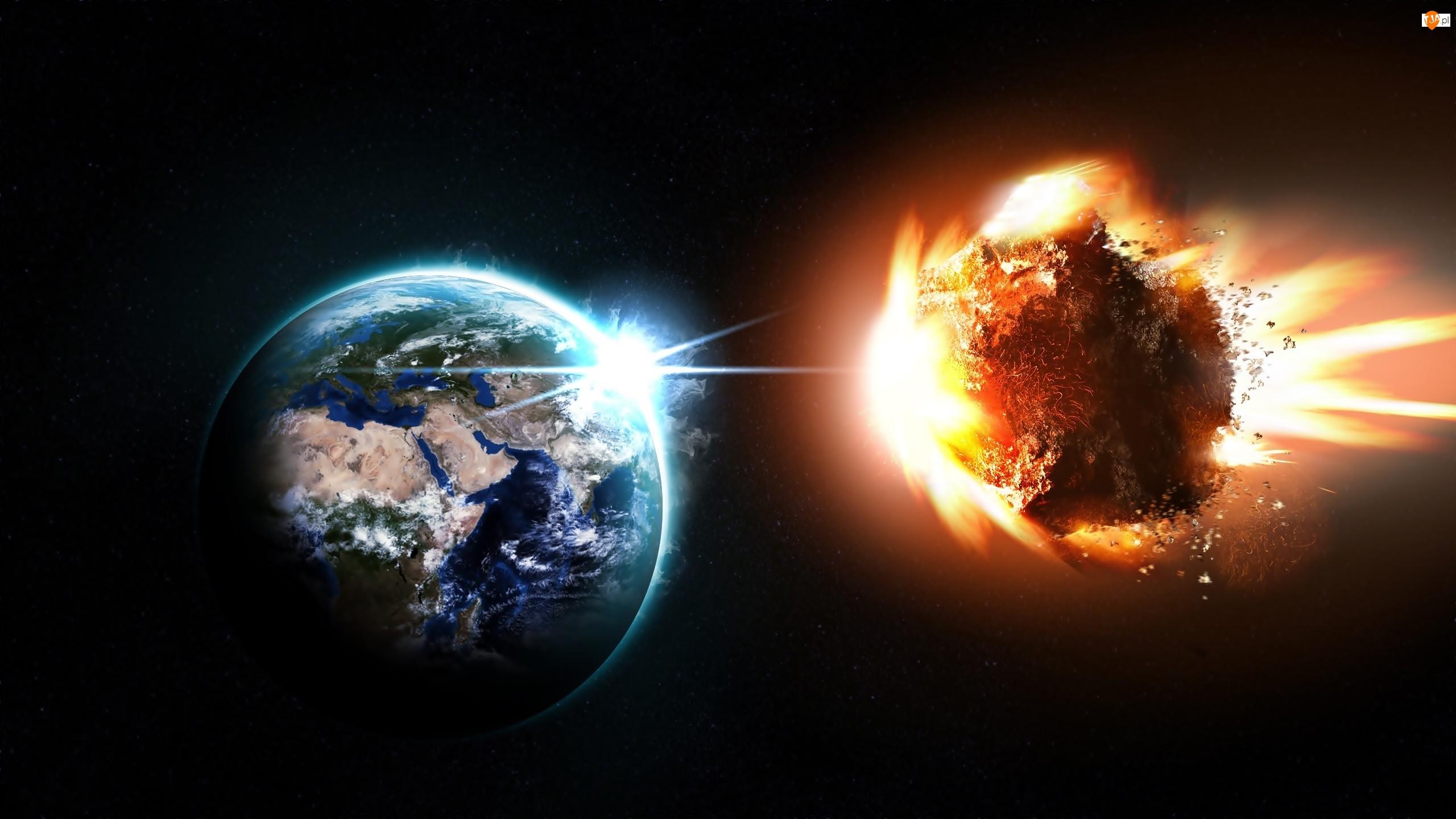 Kosmos, Ziemia, Meteoryt