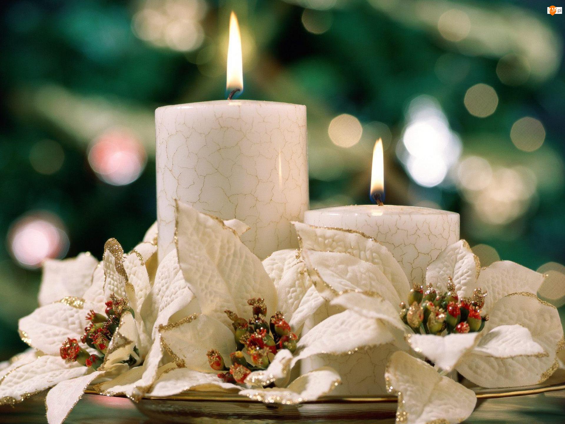 Boże Narodzenie, świeczki