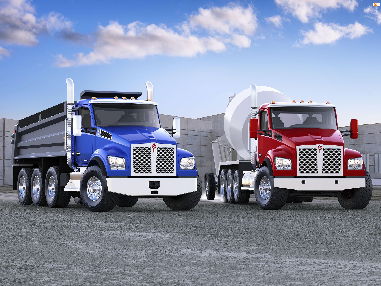Ciężarówki, Kenworth T880S