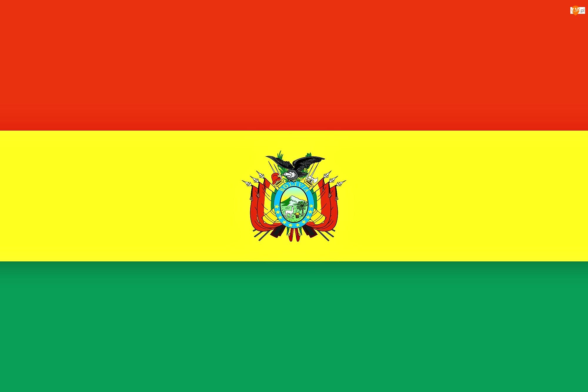 Flaga, Boliwia