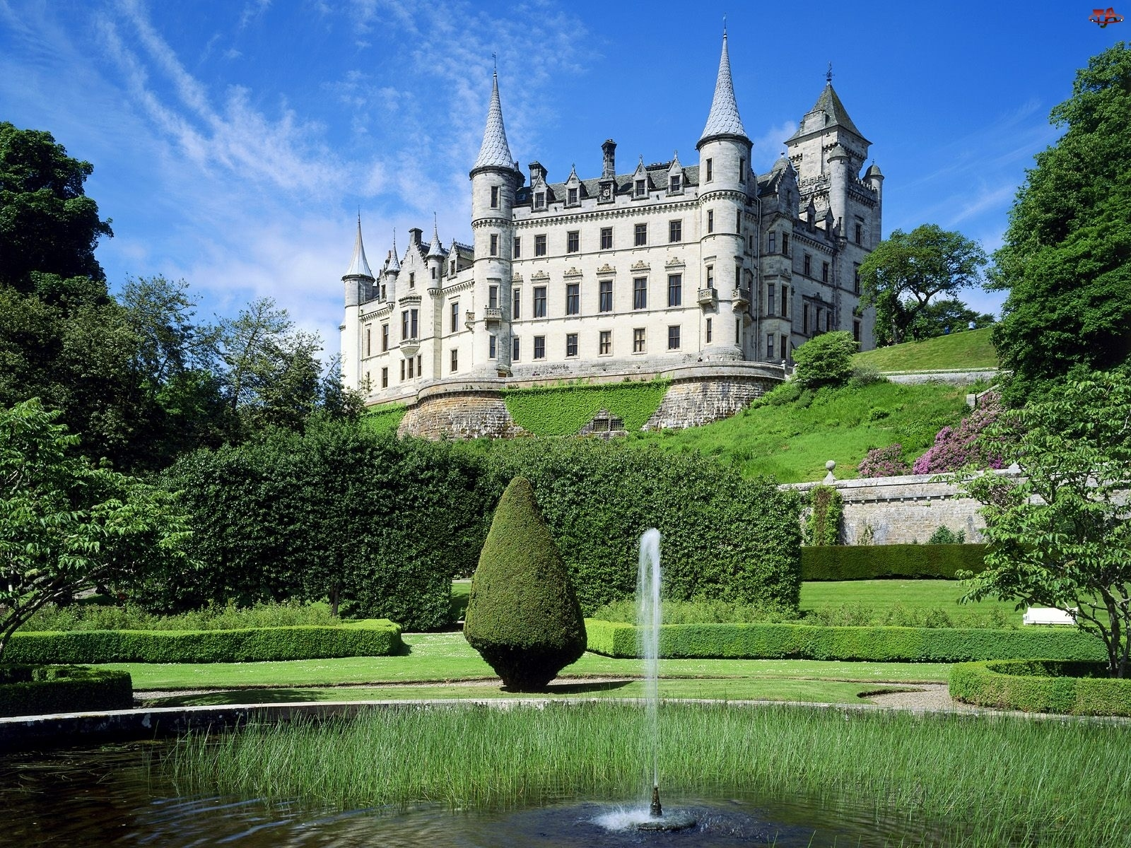 Szkocja, Zamek, Dunrobin