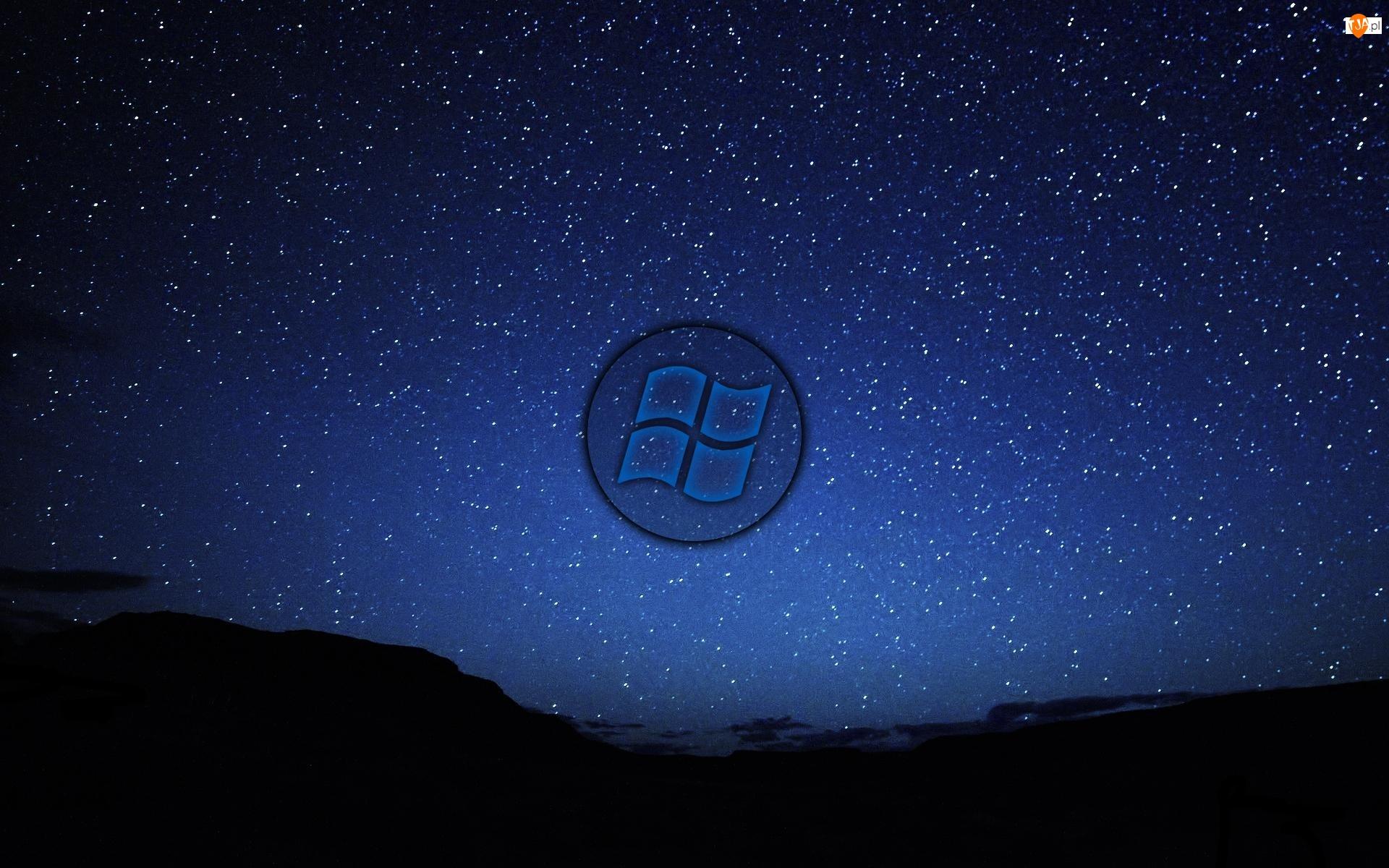 Gwiazdy, Logo, Windows