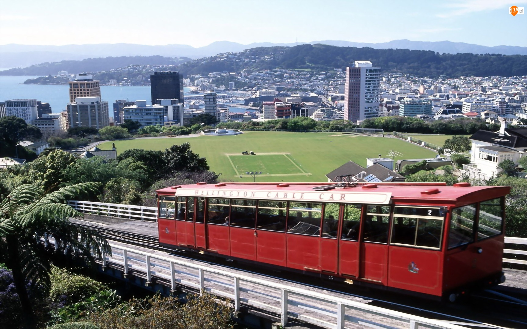 Nowa Zelandia, Tramwaj, Wellington, Miasto