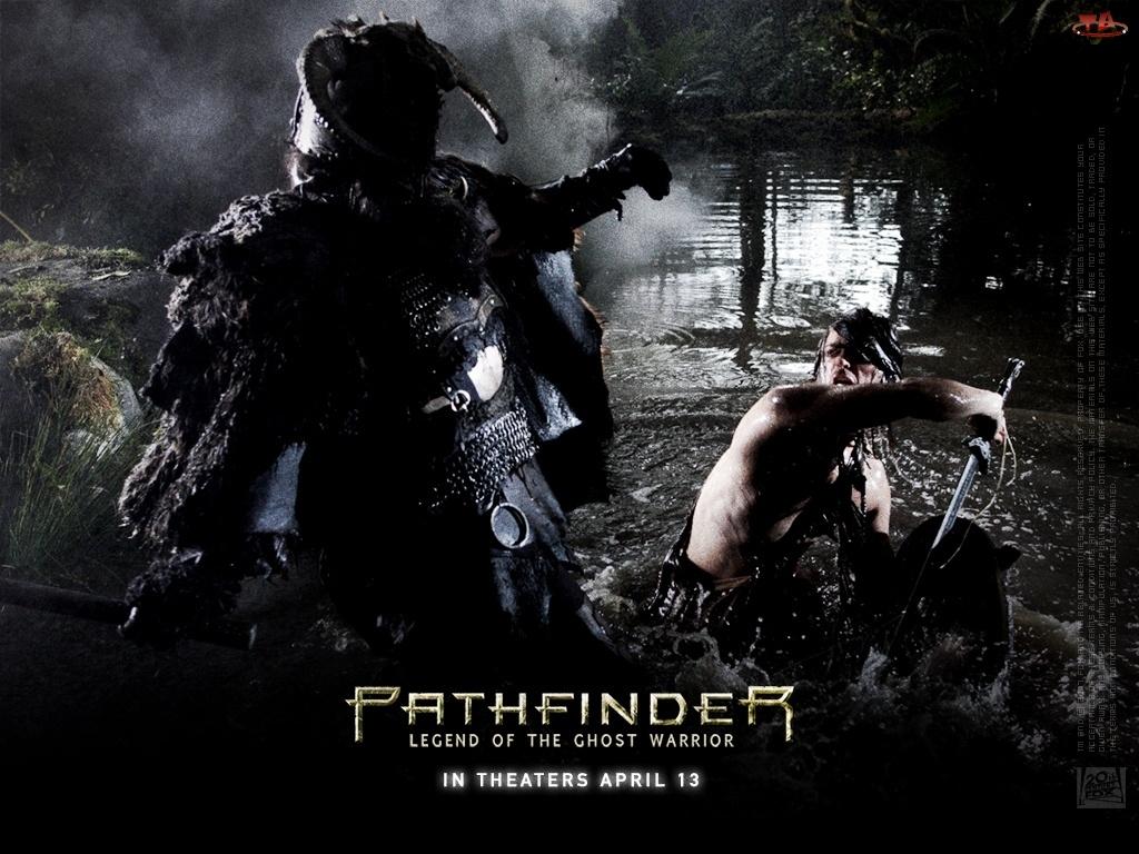 zbroja, Pathfinder, noc, woda, walka