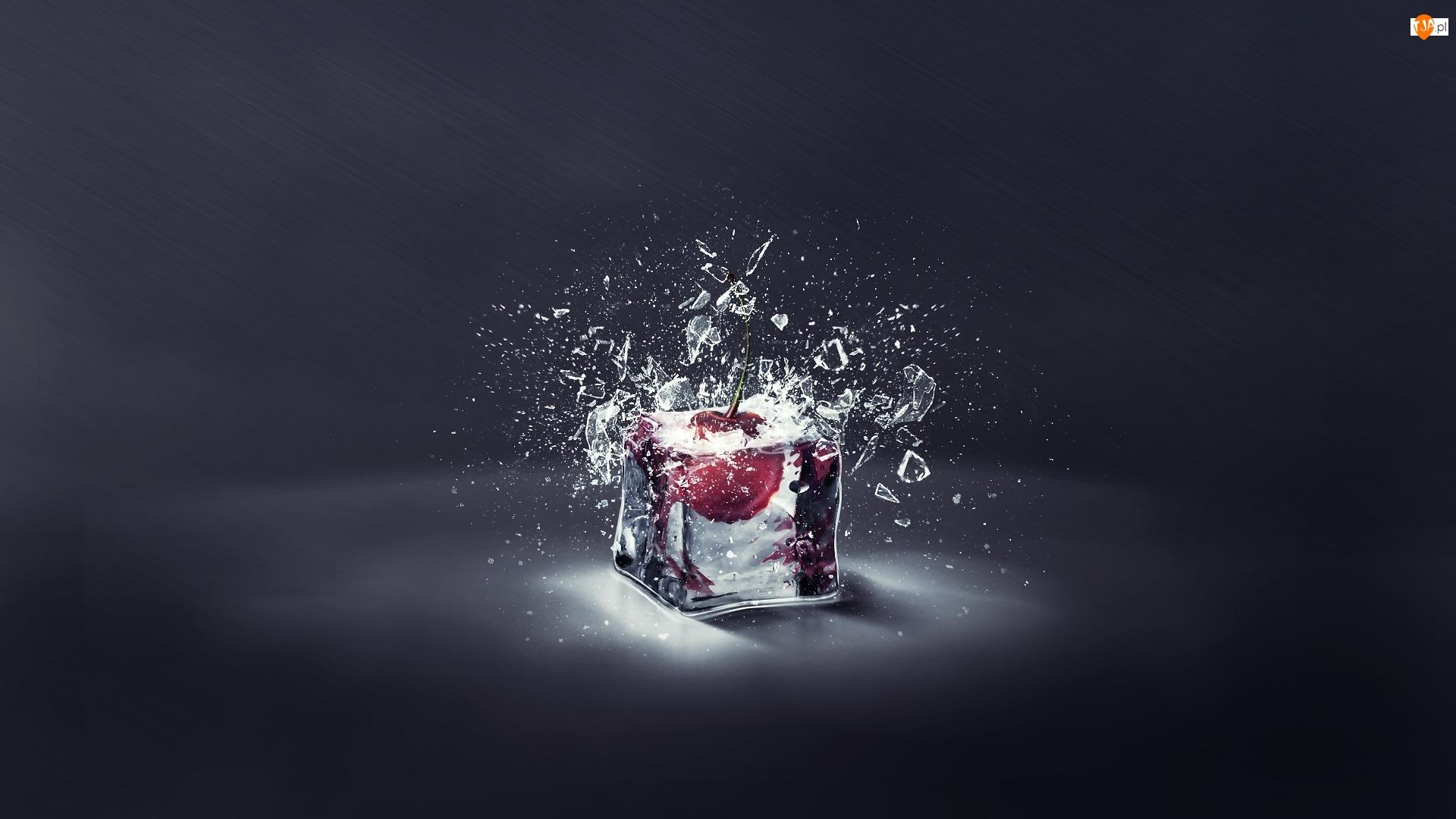 Wiśnia, Grafika 3D, Lód