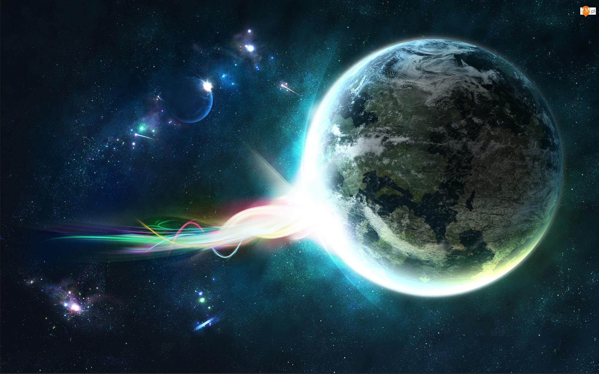 Kometa, Ziemia, Kosmos