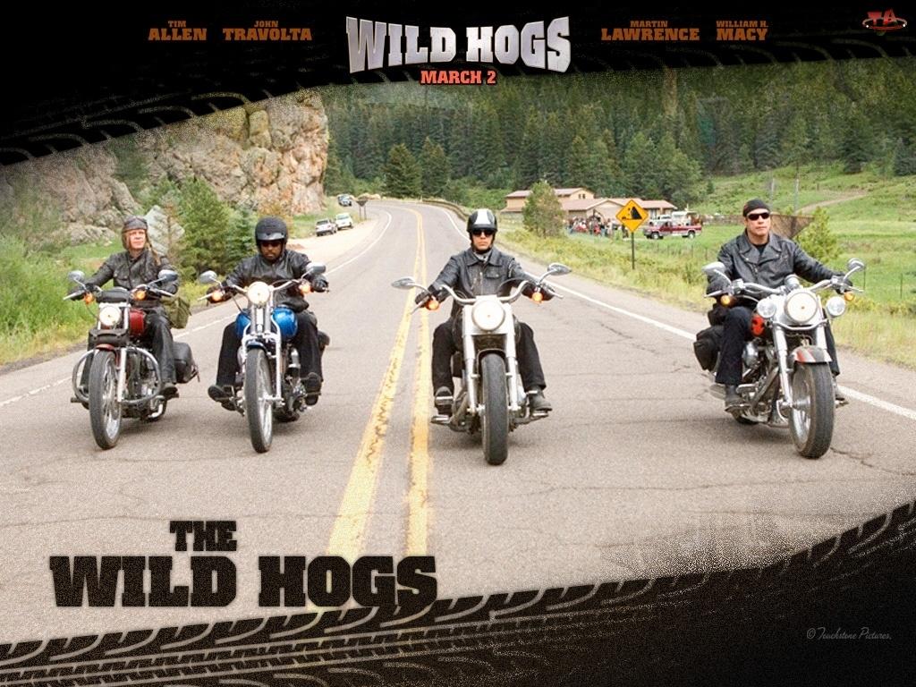 motocykliści, Wild Hogs, ulica